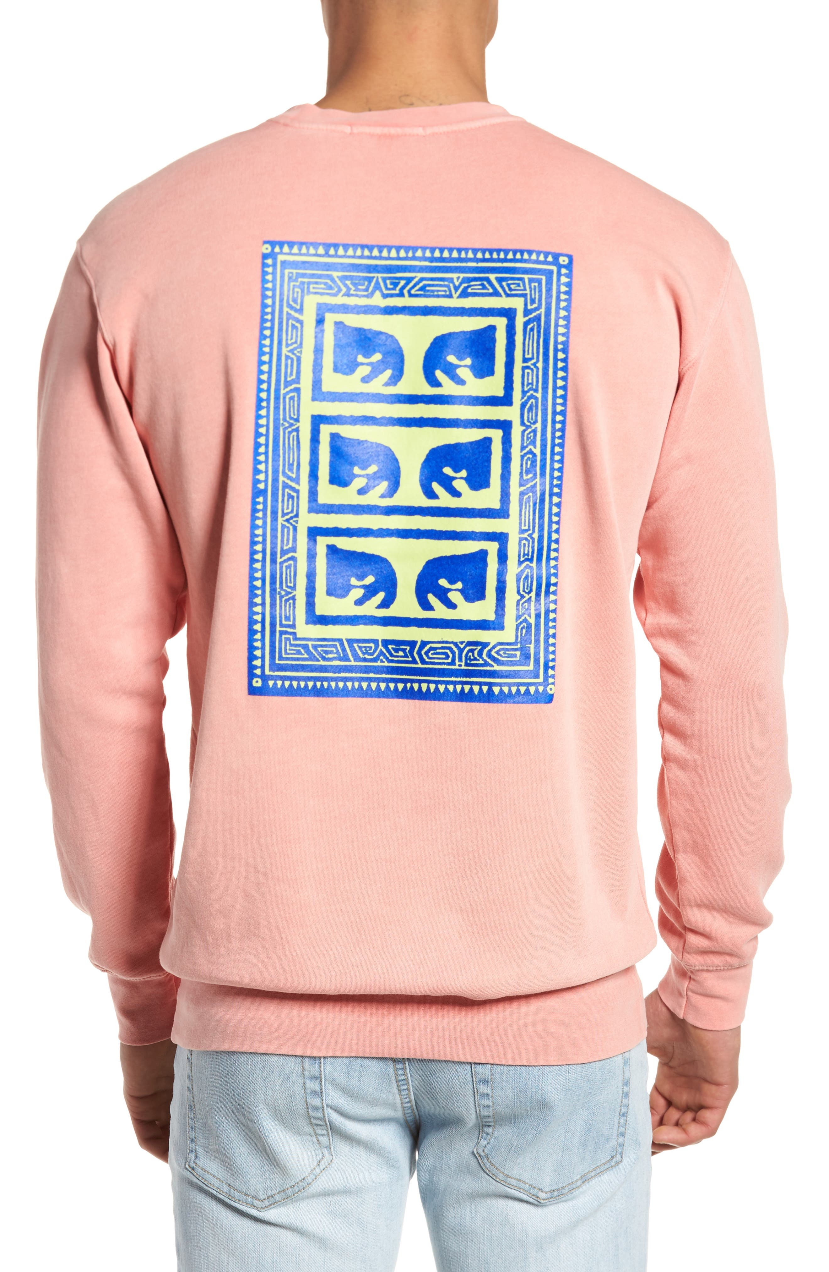 Flashback Pigment Dyed Sweatshirt,                             Alternate thumbnail 2, color,