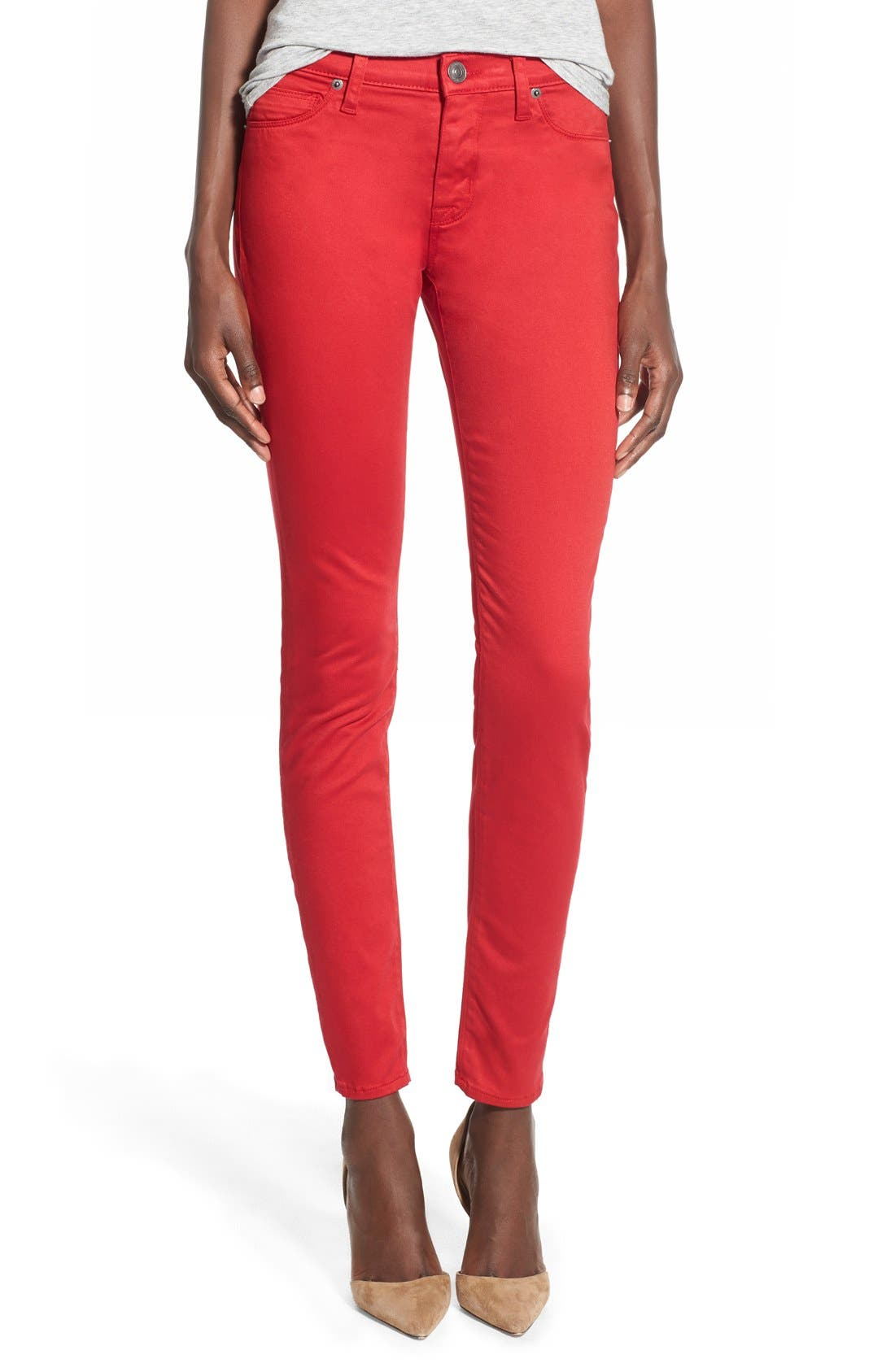 'Nico' Skinny Jeans,                             Main thumbnail 1, color,                             610
