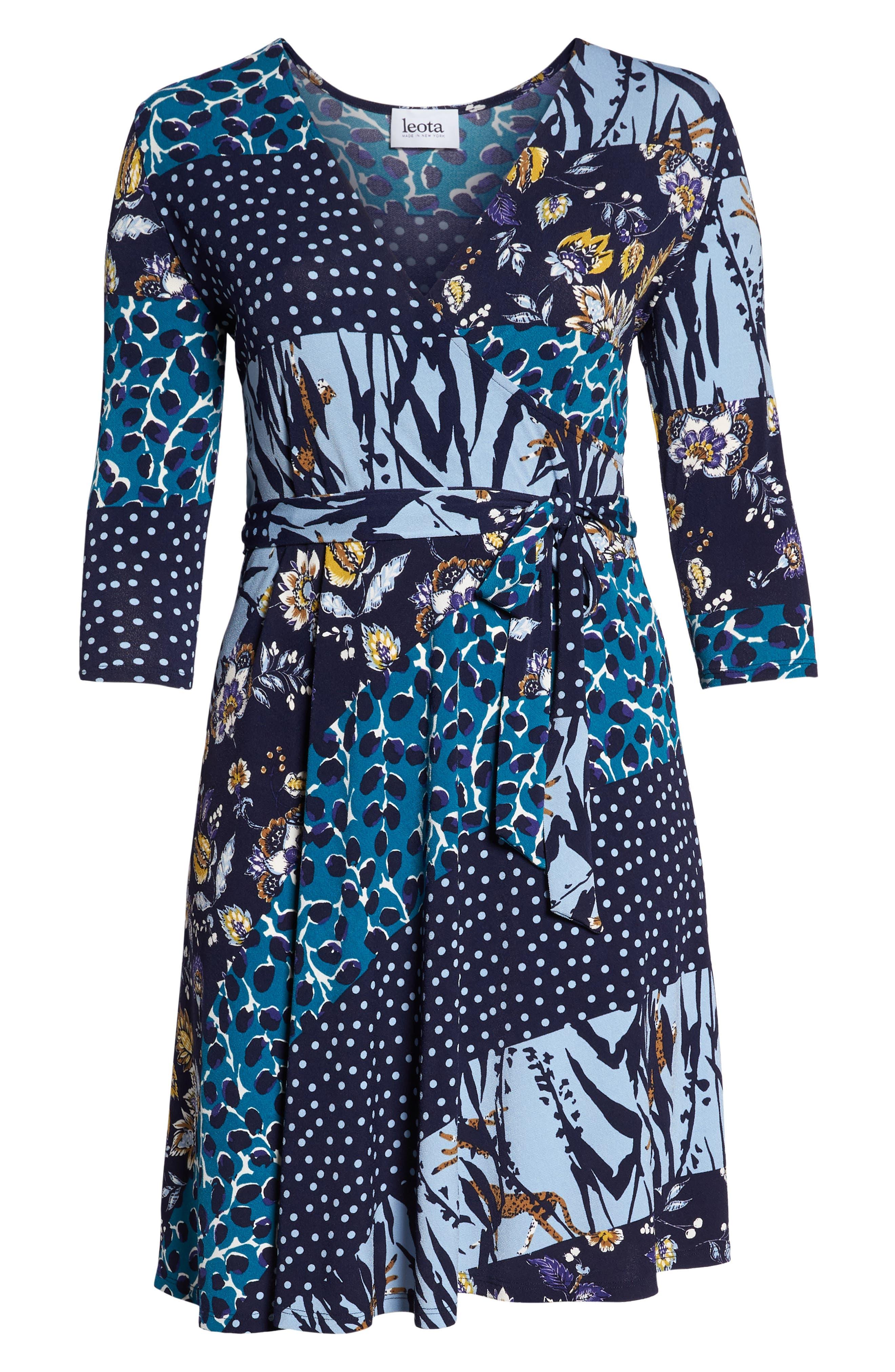 Wrap Dress,                             Alternate thumbnail 7, color,                             MONTAGE