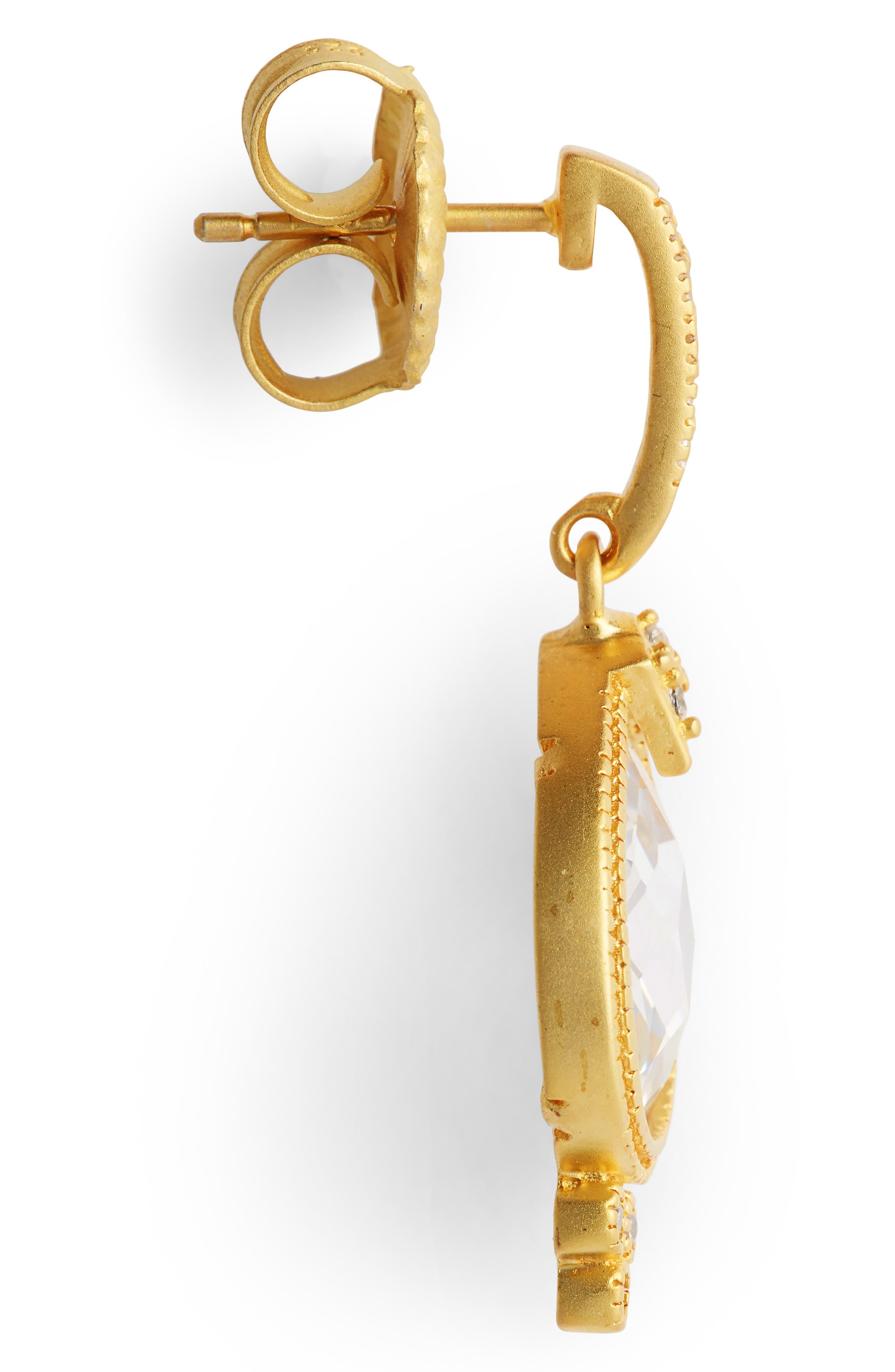 Audrey Teardrop Earrings,                             Alternate thumbnail 4, color,                             710