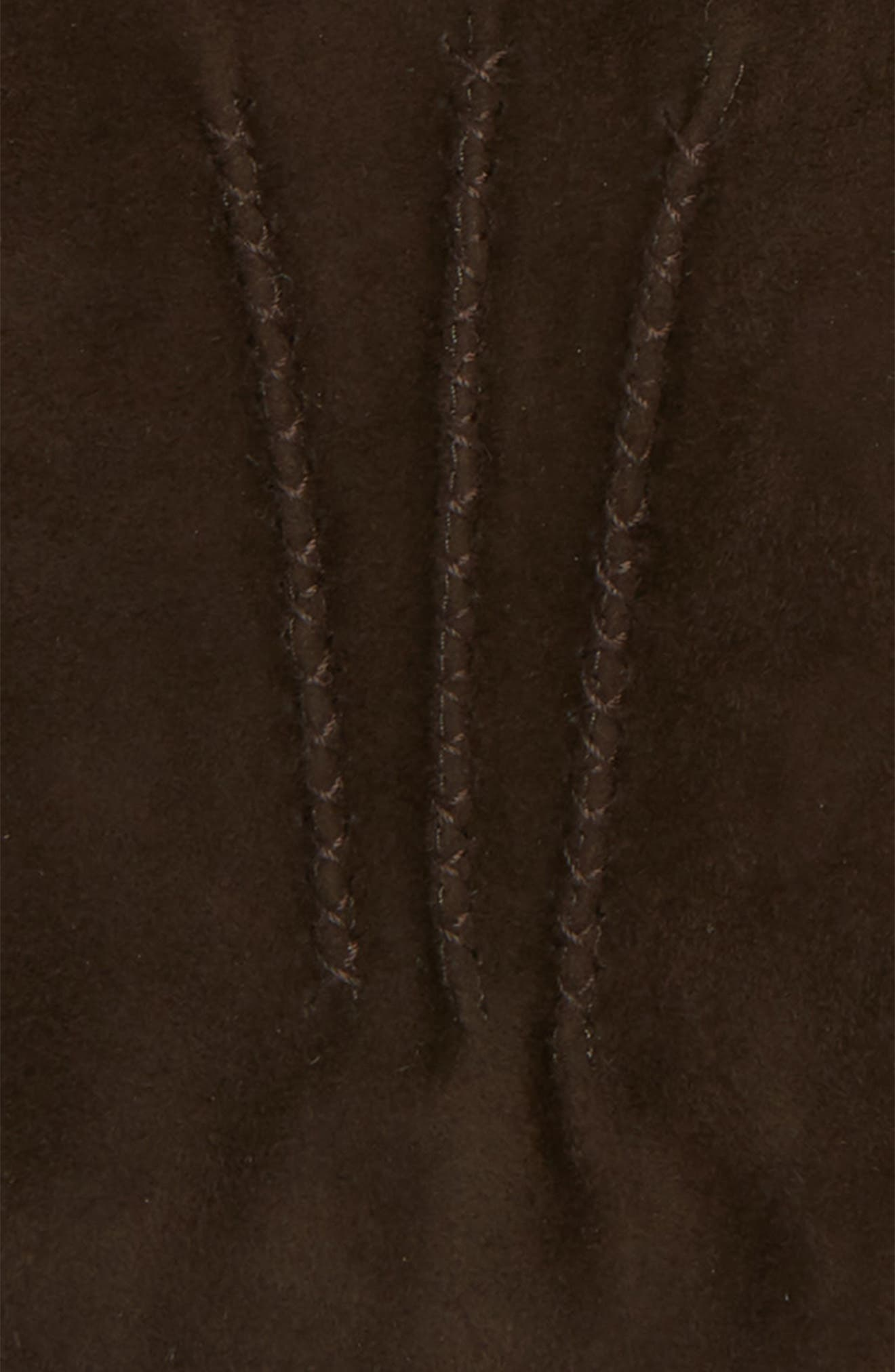 Suede Gloves,                             Alternate thumbnail 2, color,                             BROWN