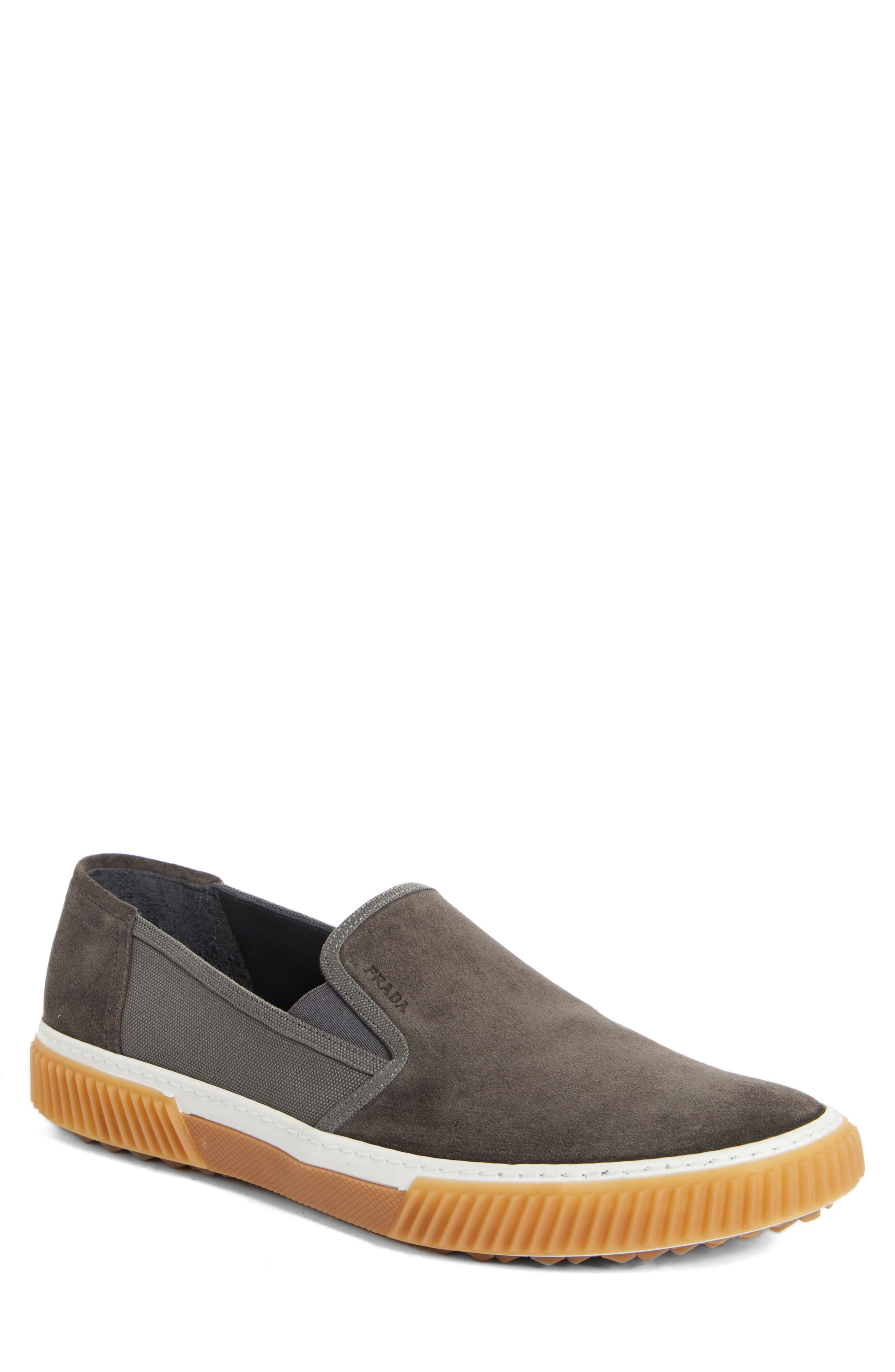 Linea Rossa Slip-On, Main, color, GREY