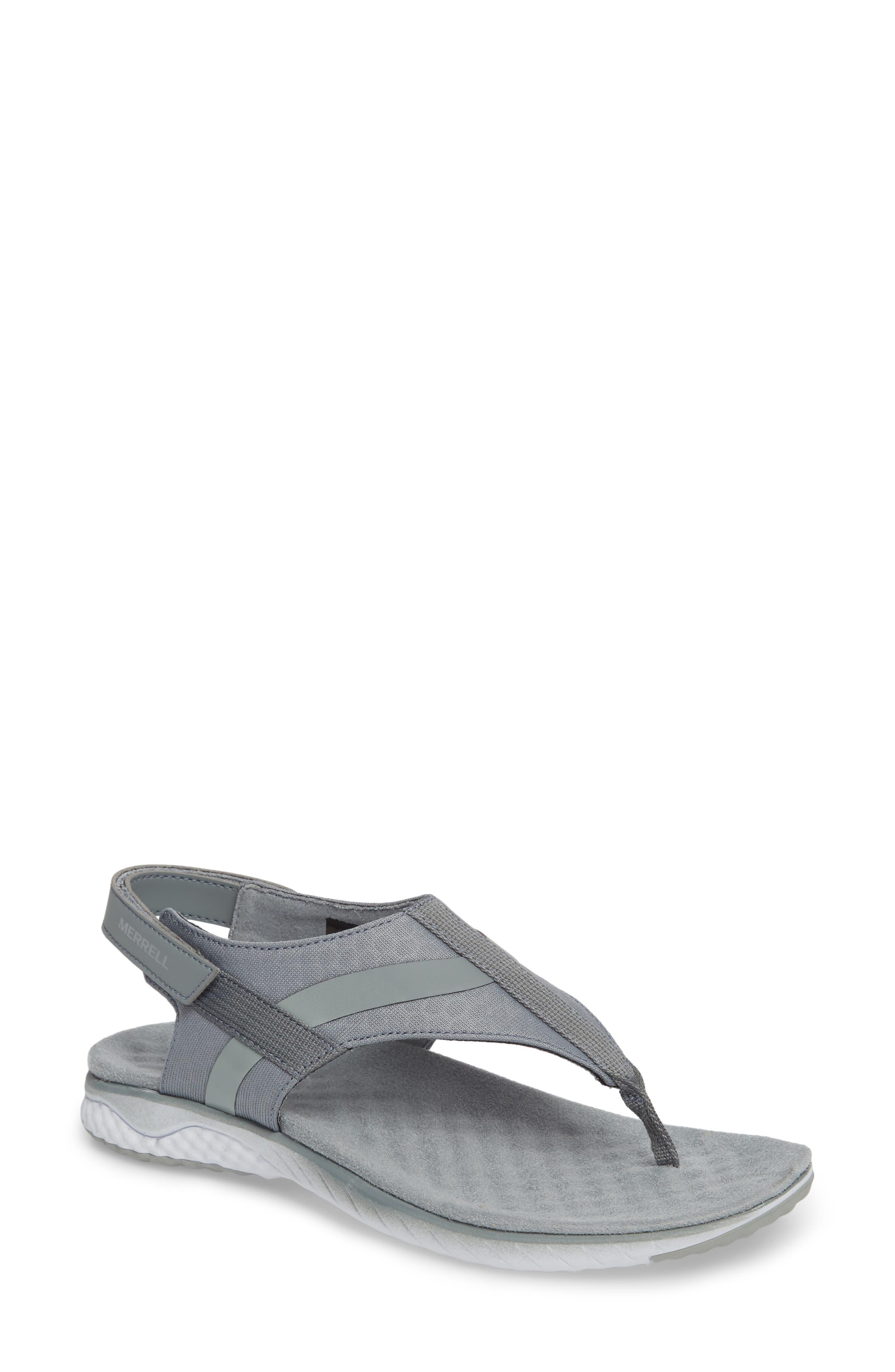 1SIX8 Linna Slide Air Cushion+ Sandal,                             Main thumbnail 2, color,