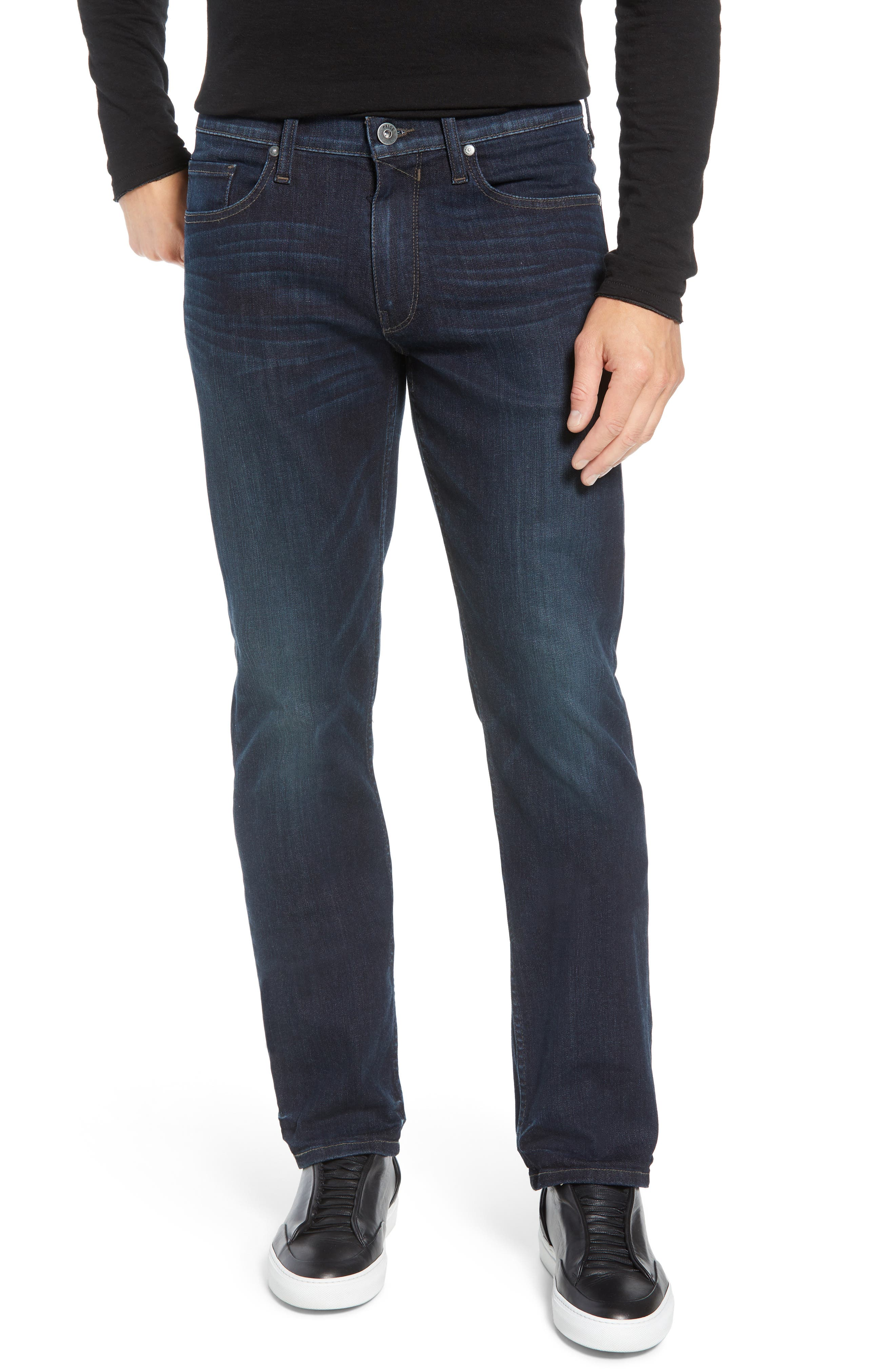 Transcend - Normandie Straight Leg Jeans,                         Main,                         color, KENAN
