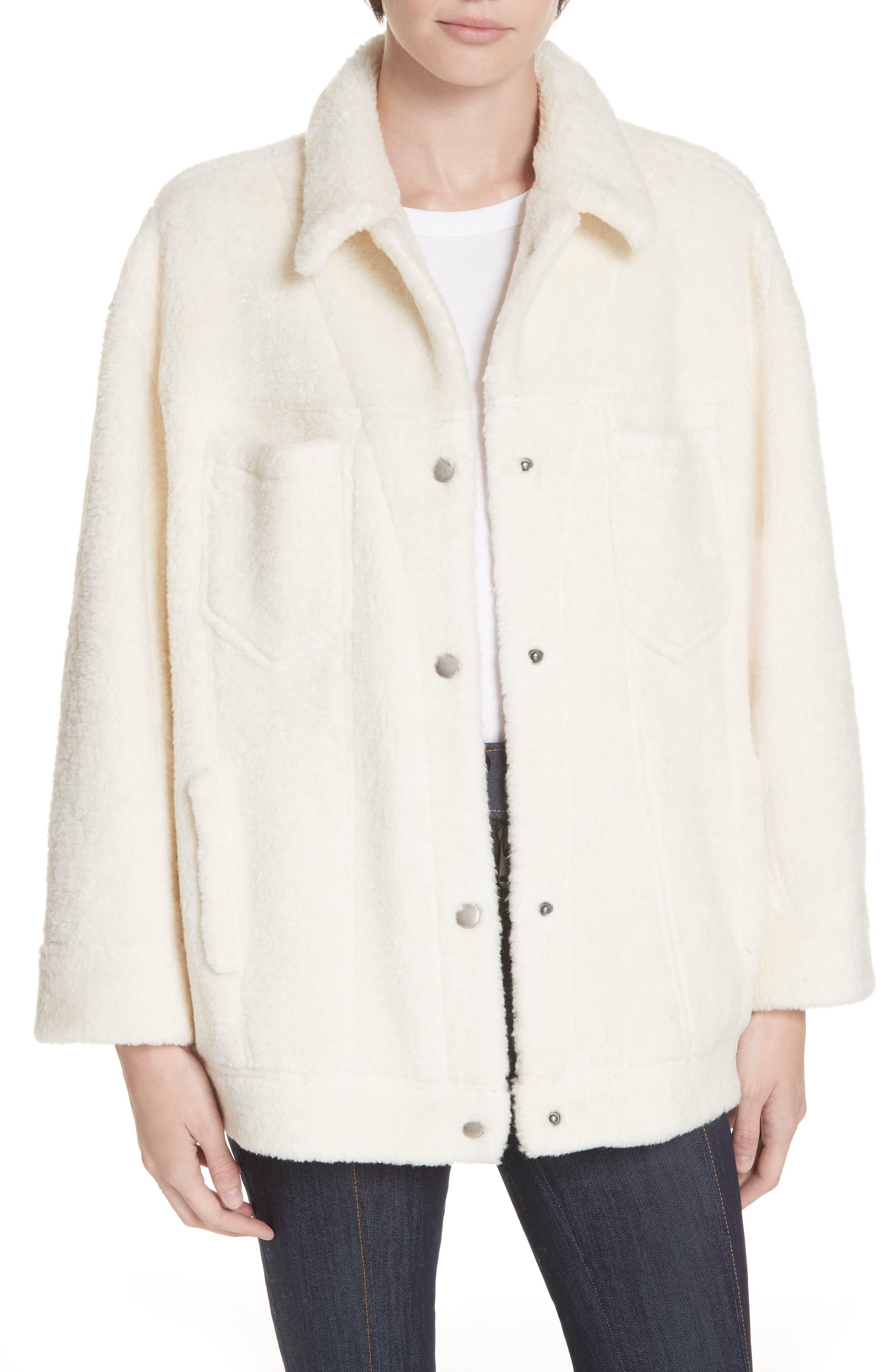 Cinq A Sept Julia Fleece Jacket