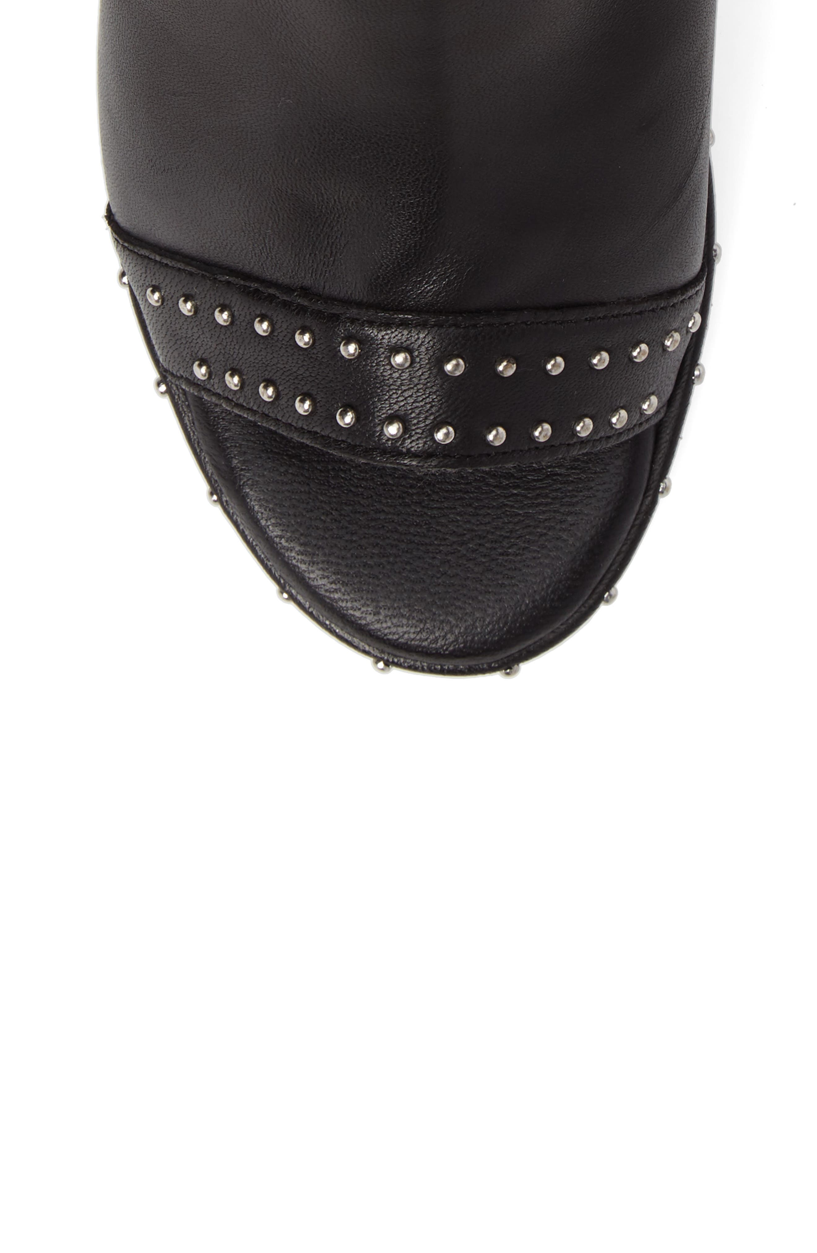 North Studded Bootie Sandal,                             Alternate thumbnail 5, color,                             001