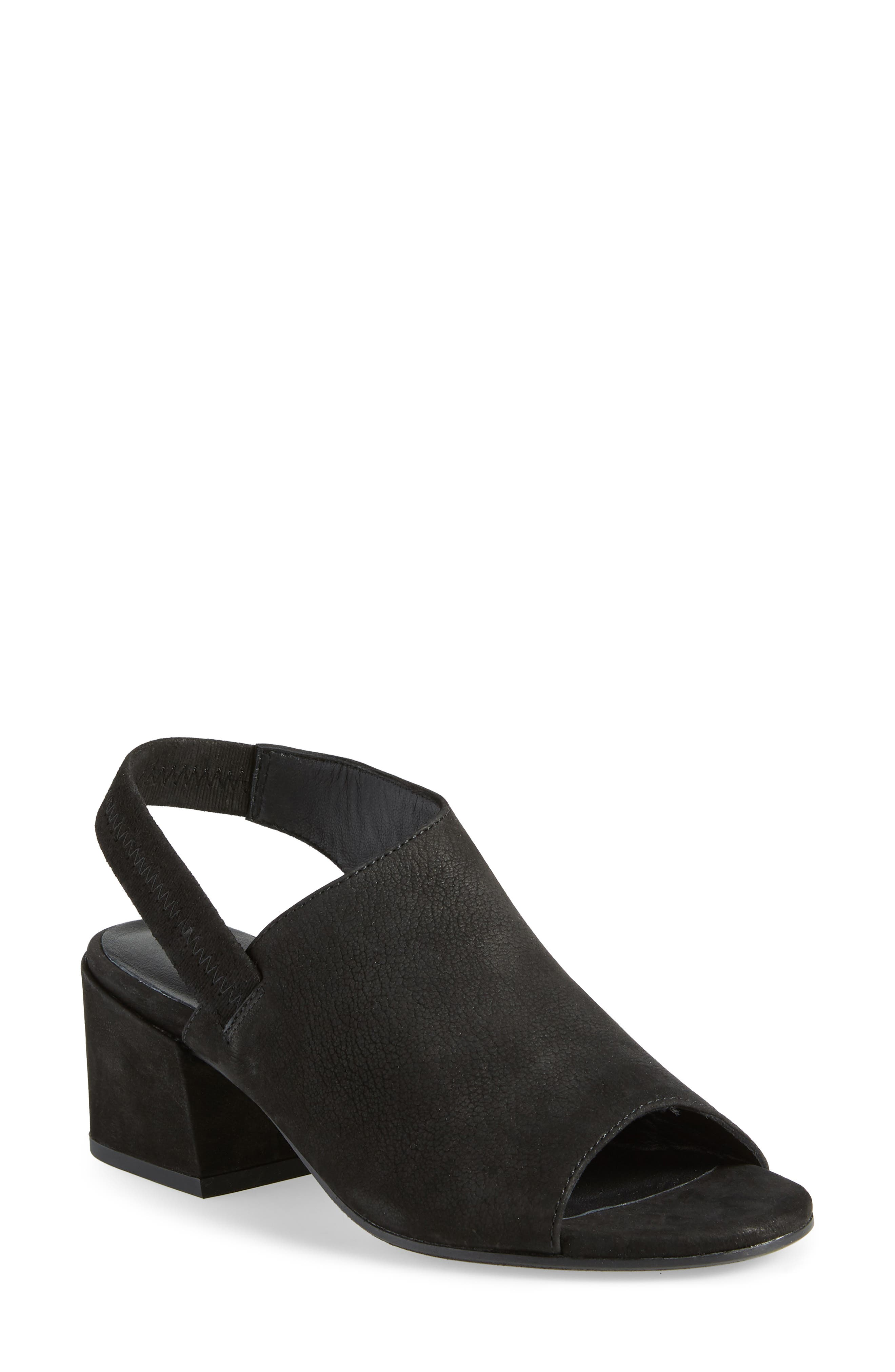 Leigh Asymmetrical Slingback Sandal,                             Main thumbnail 1, color,