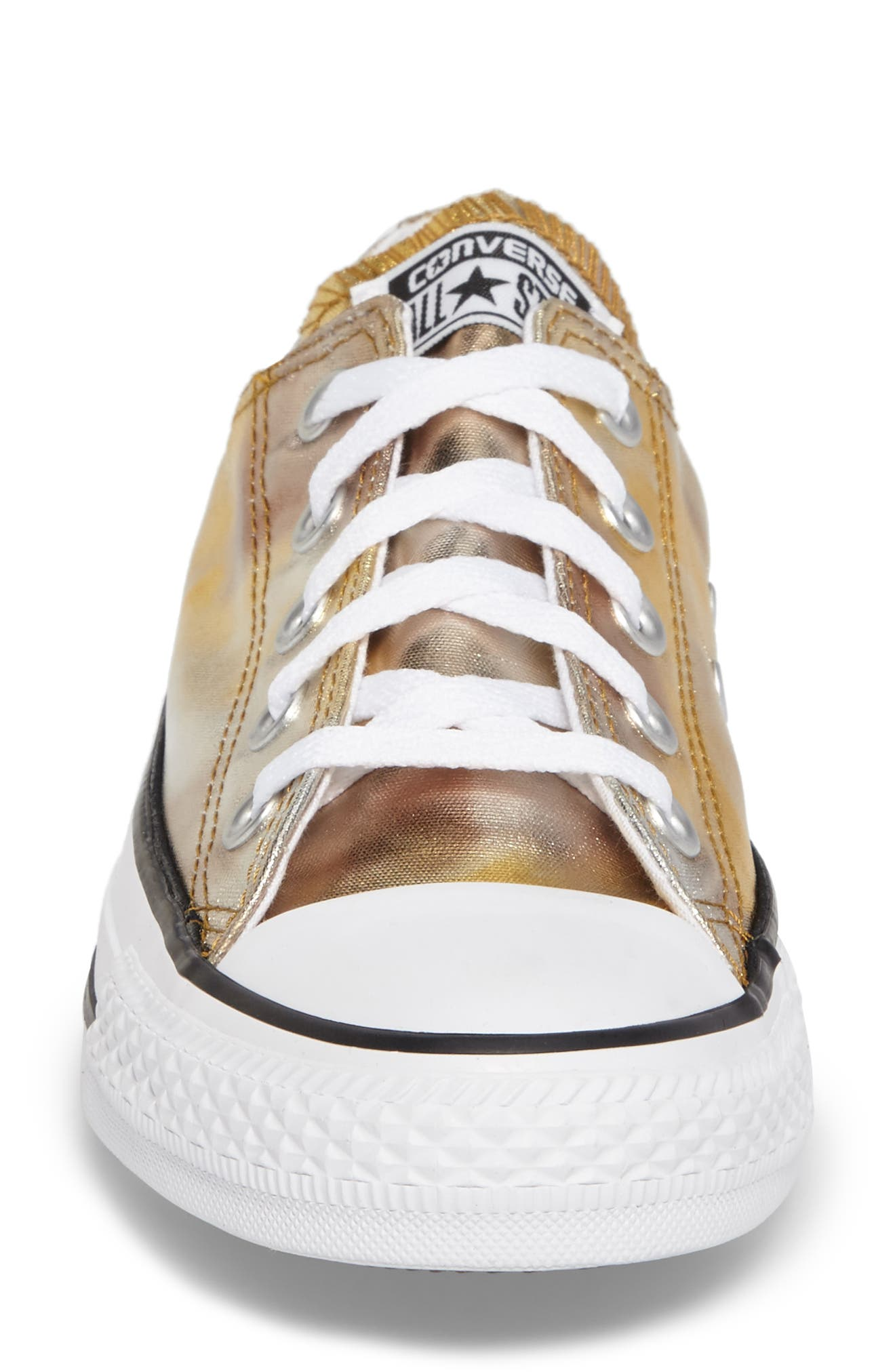 Chuck Taylor<sup>®</sup> All Star<sup>®</sup> Seasonal Metallic Ox Low Top Sneaker,                             Alternate thumbnail 12, color,