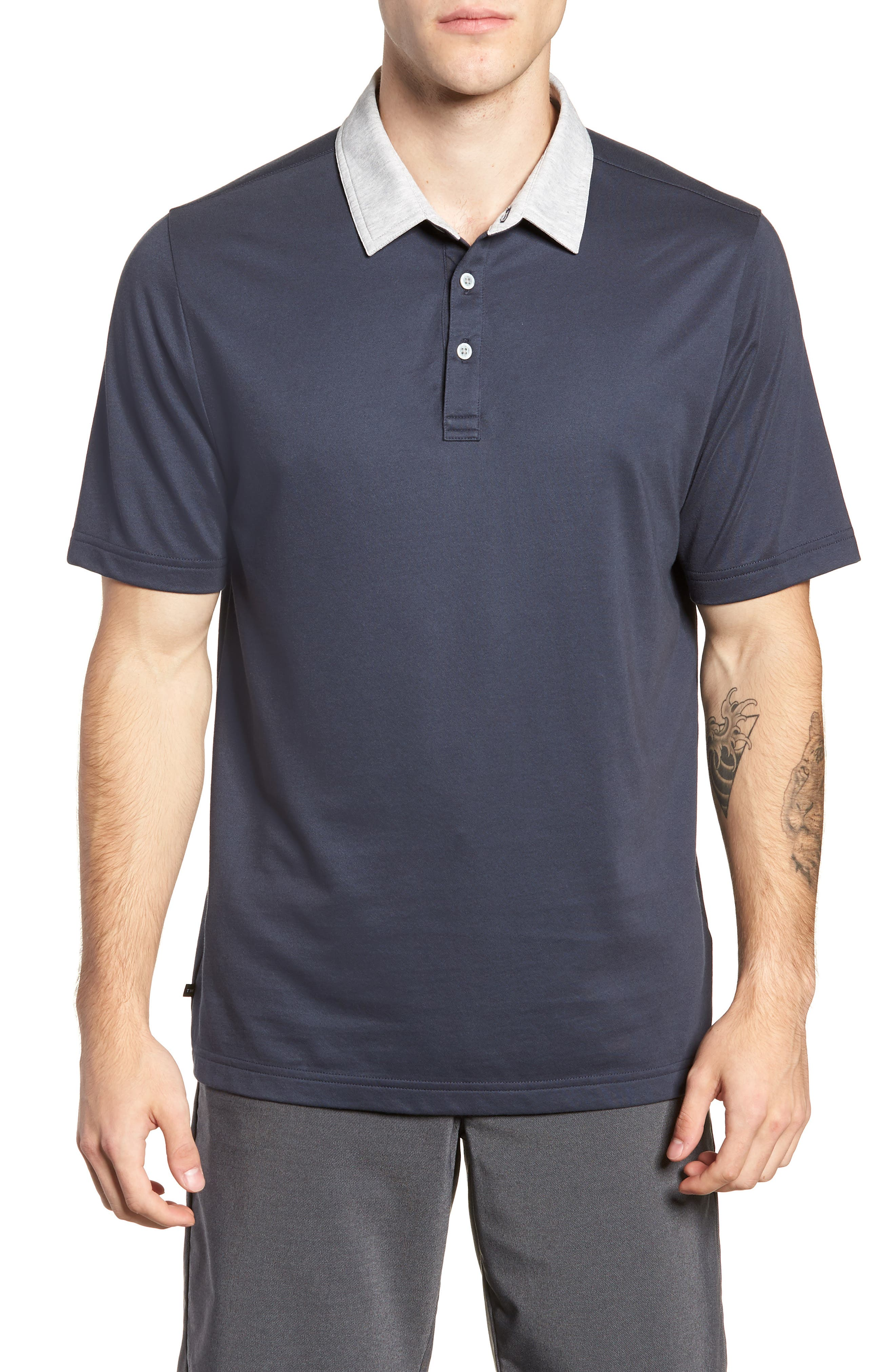 Pays for Itself Trim Fit Polo,                             Main thumbnail 1, color,                             400