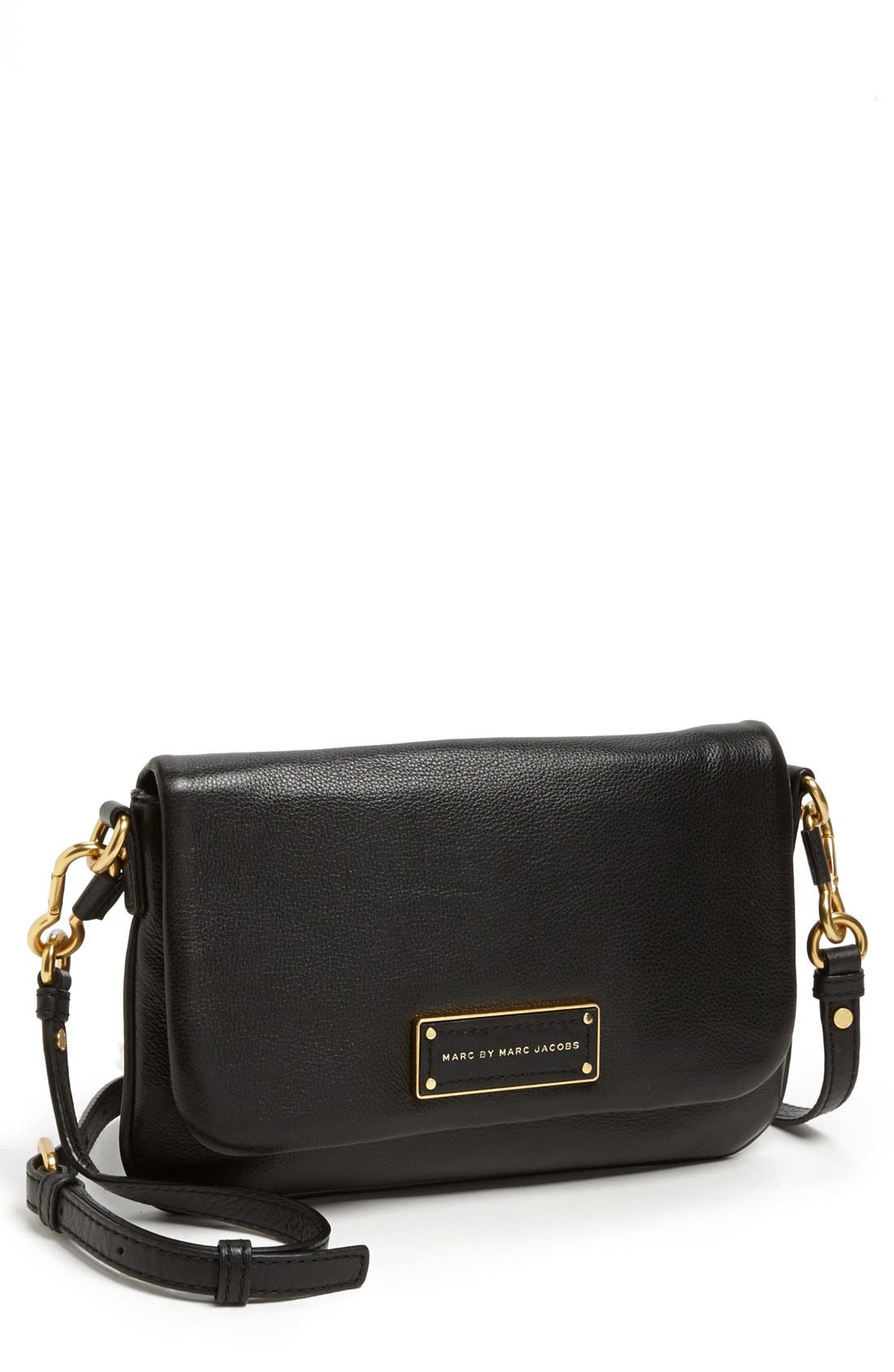 MARC BY MARC JACOBS 'Too Hot to Handle - Percy' Crossbody Bag,                             Main thumbnail 1, color,                             001
