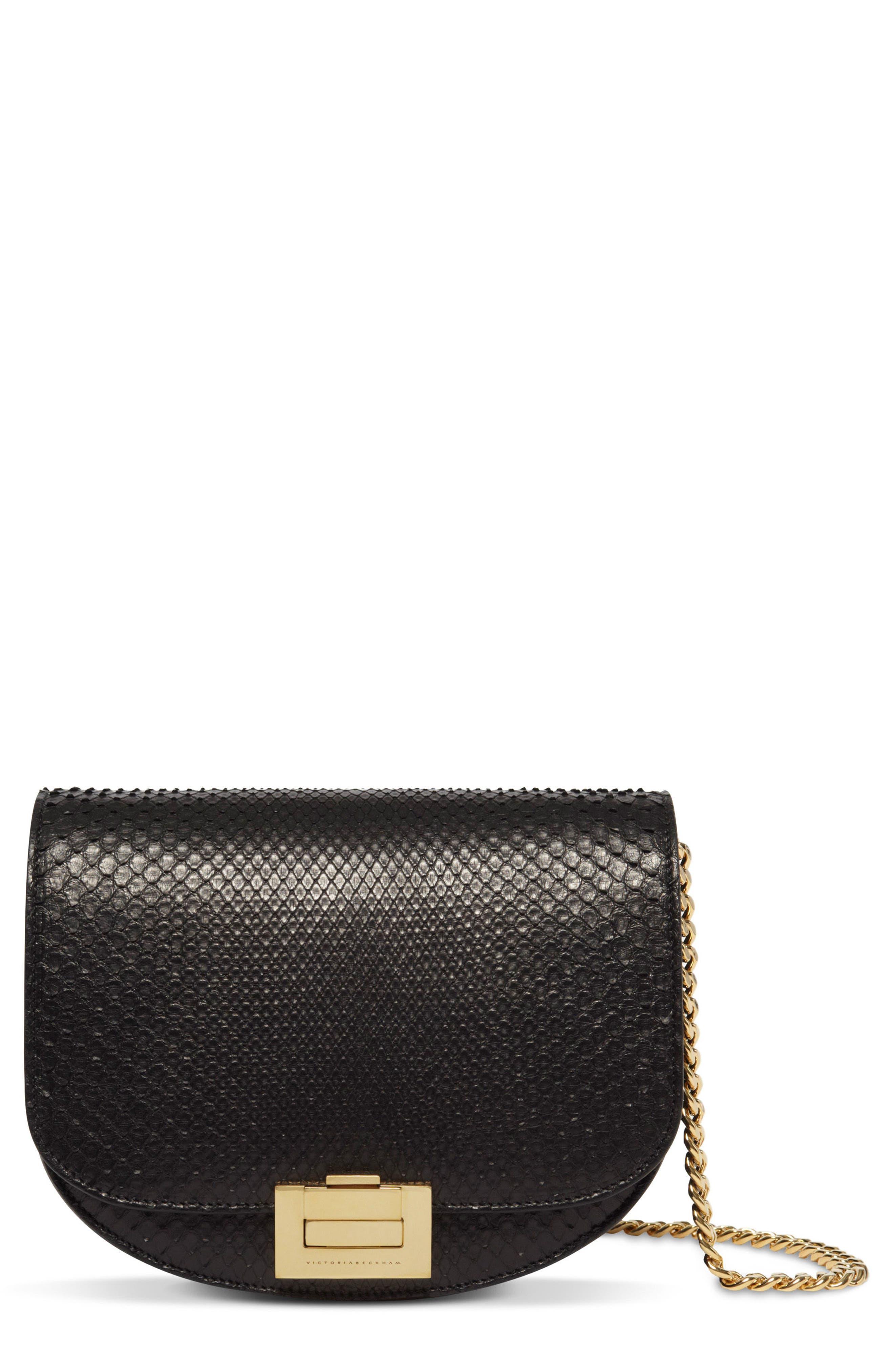 Leather Bag,                             Main thumbnail 1, color,                             001