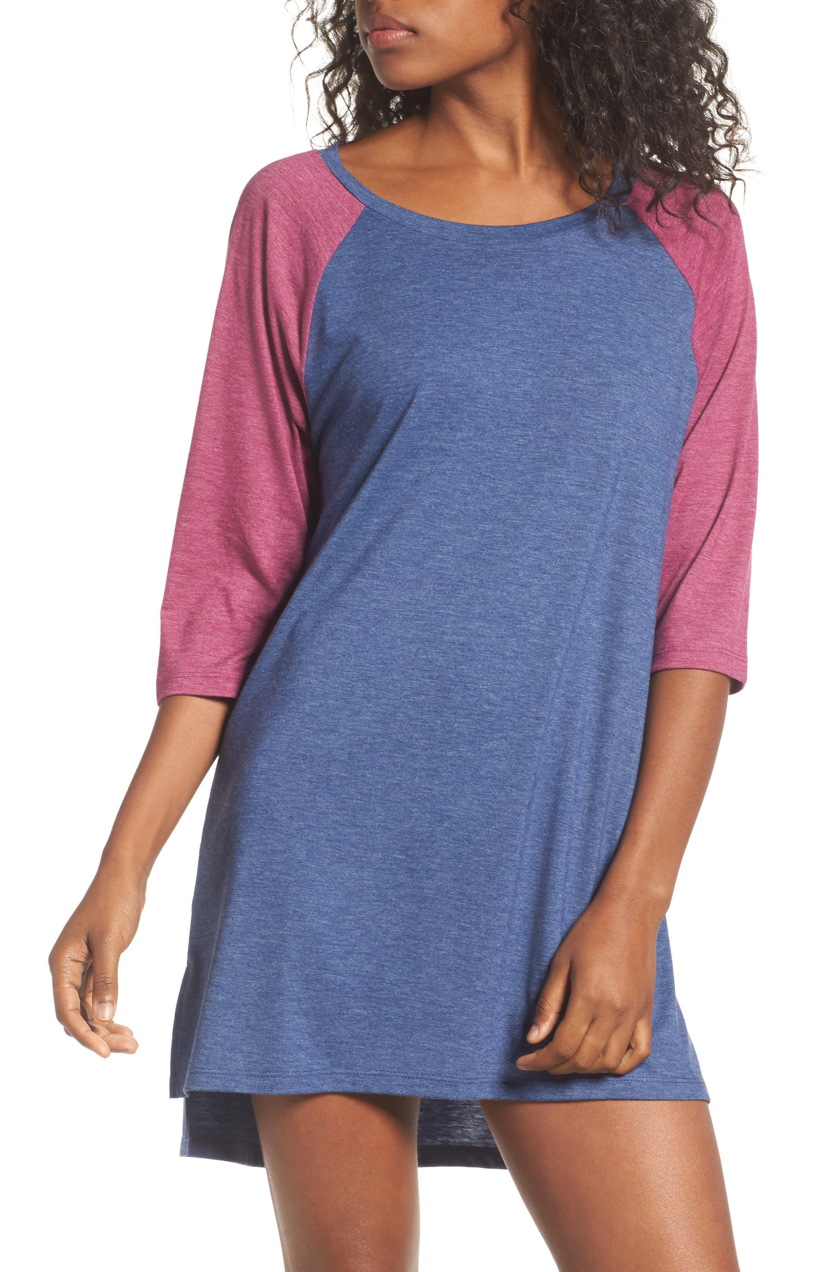Honeydew All American Sleep Shirt,                             Main thumbnail 5, color,