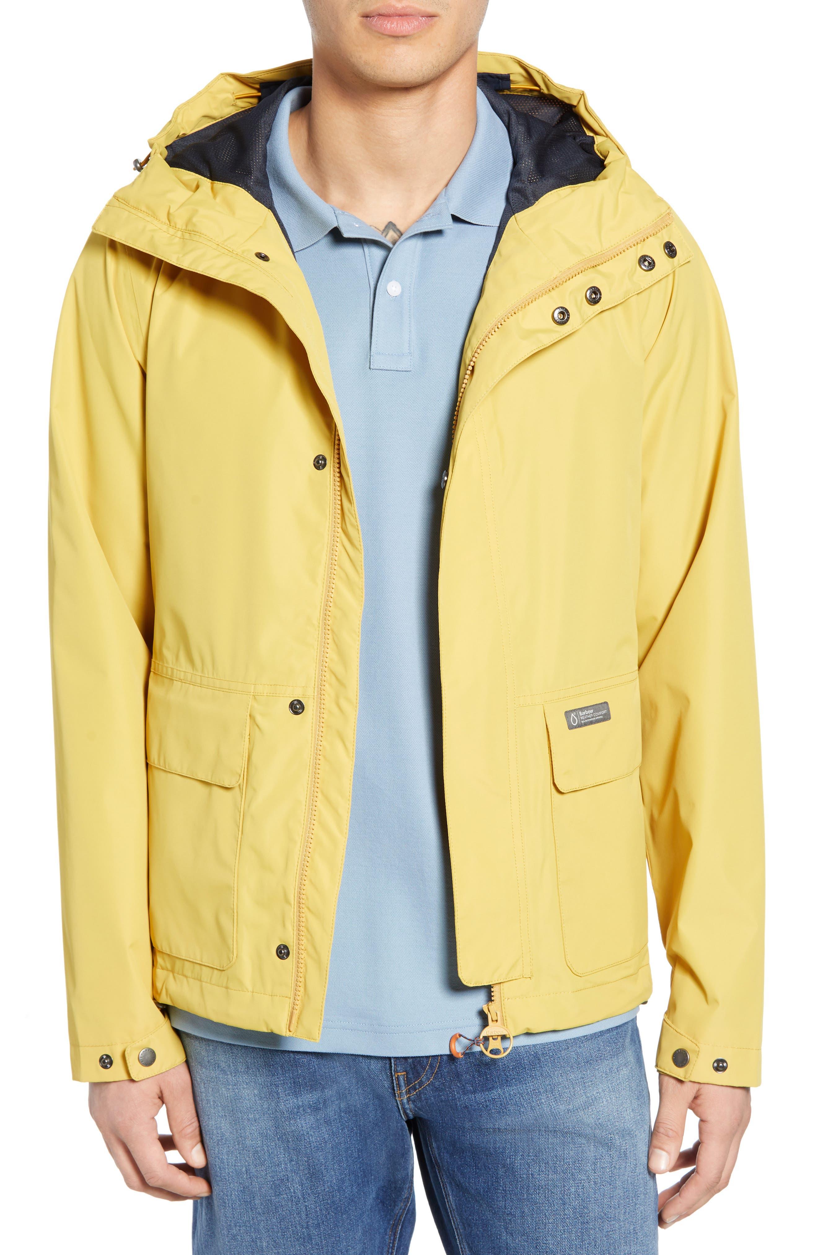 Barbour Foxtrot Waterproof Hooded Jacket, Metallic