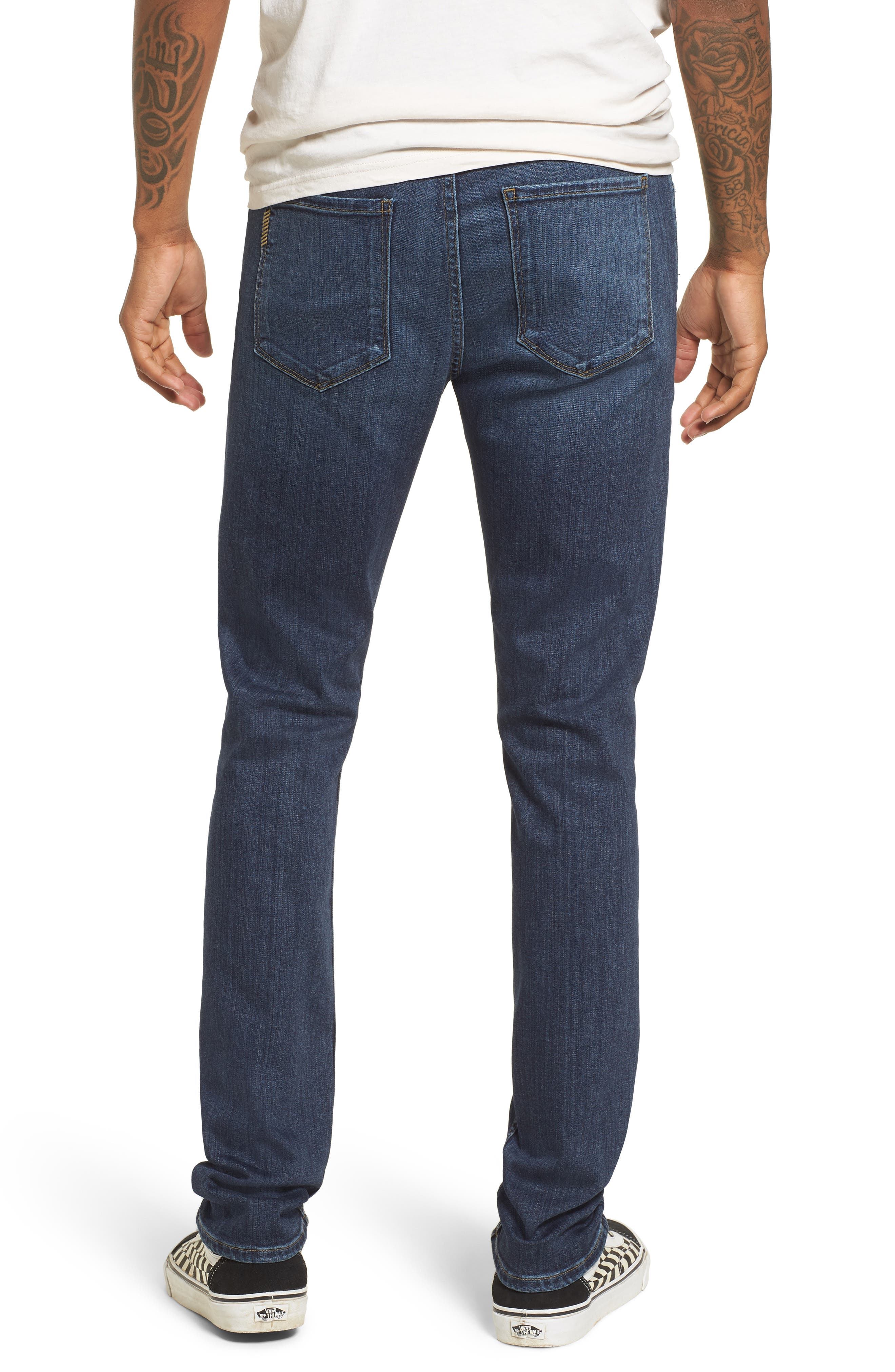 Transcend - Croft Skinny Fit Jeans,                             Alternate thumbnail 2, color,                             FULTON