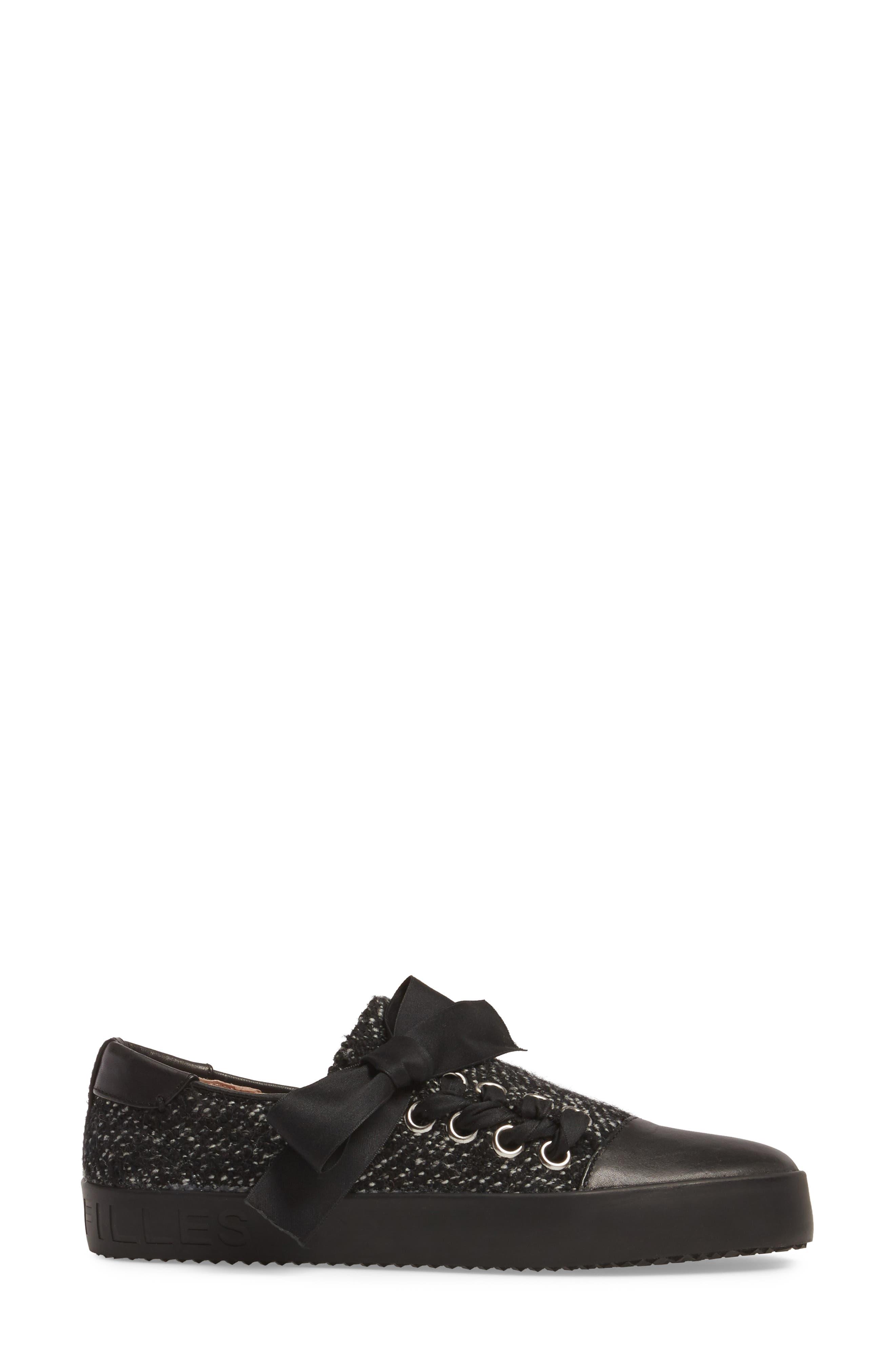 Vera Sneaker,                             Alternate thumbnail 3, color,                             001