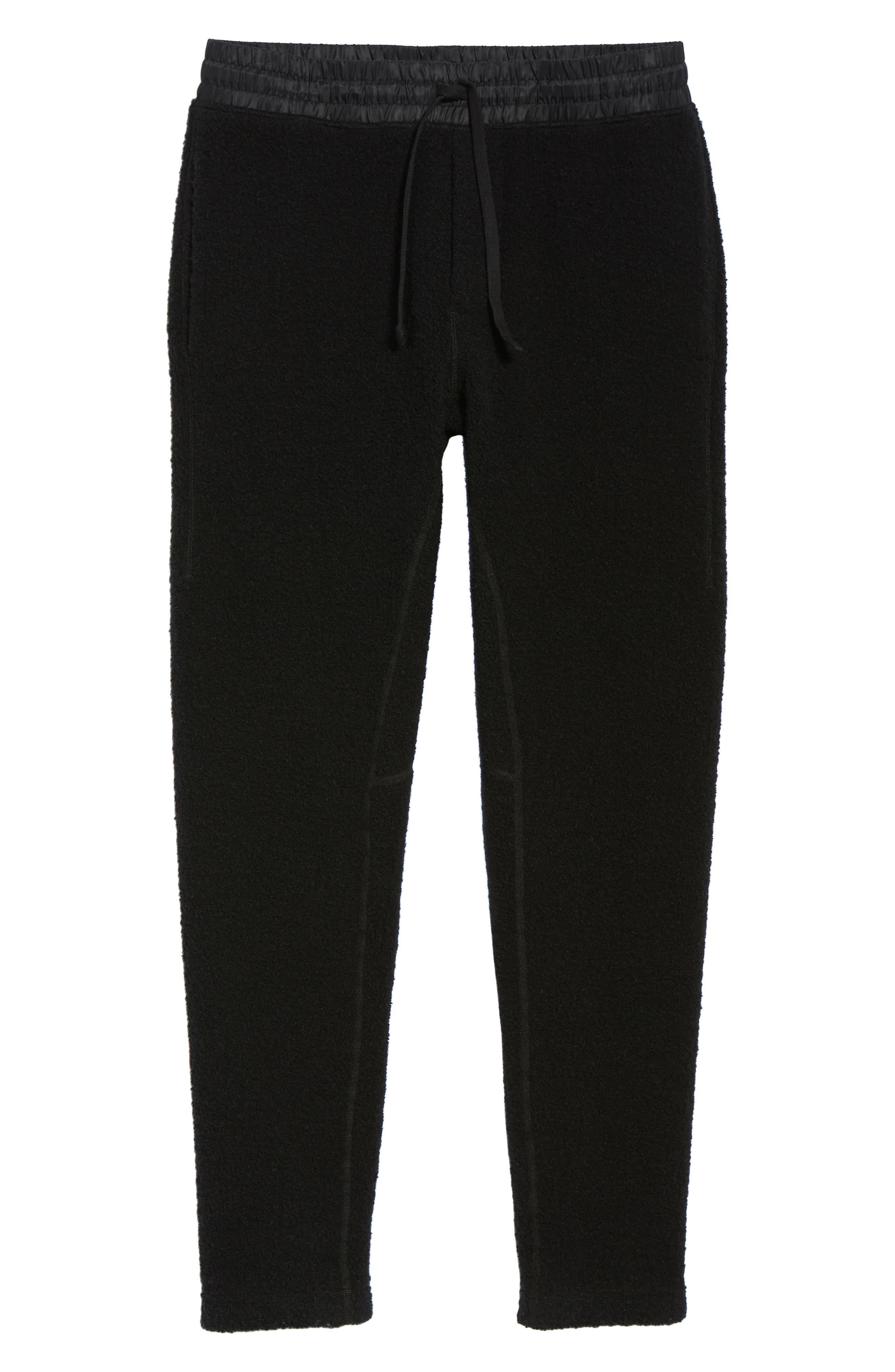 Tactical Fleece Pants,                             Alternate thumbnail 6, color,                             001