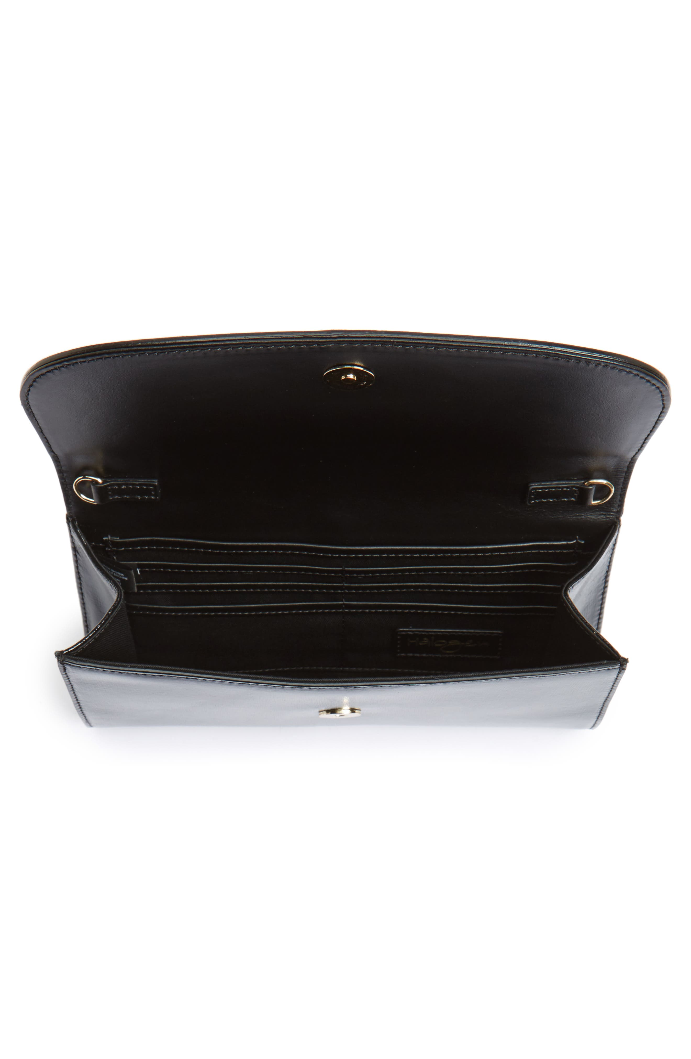 Leather Clutch,                             Alternate thumbnail 22, color,