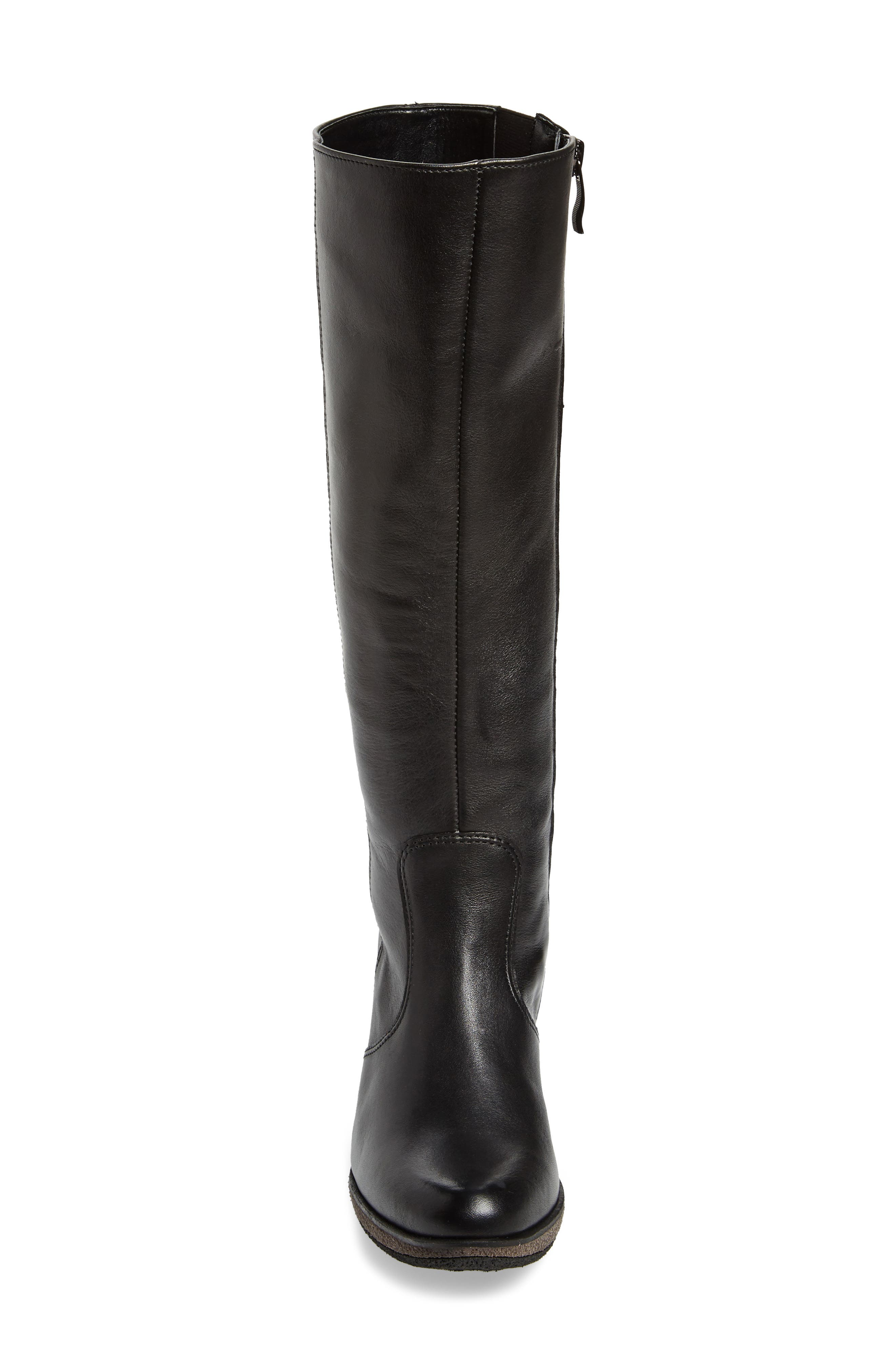 Bexley Knee High Boot,                             Alternate thumbnail 4, color,                             001