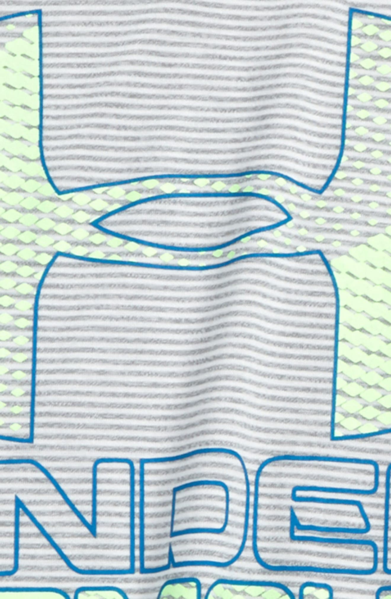 Big Logo Hybrid 2.0 HeatGear<sup>®</sup> T-Shirt,                             Alternate thumbnail 25, color,