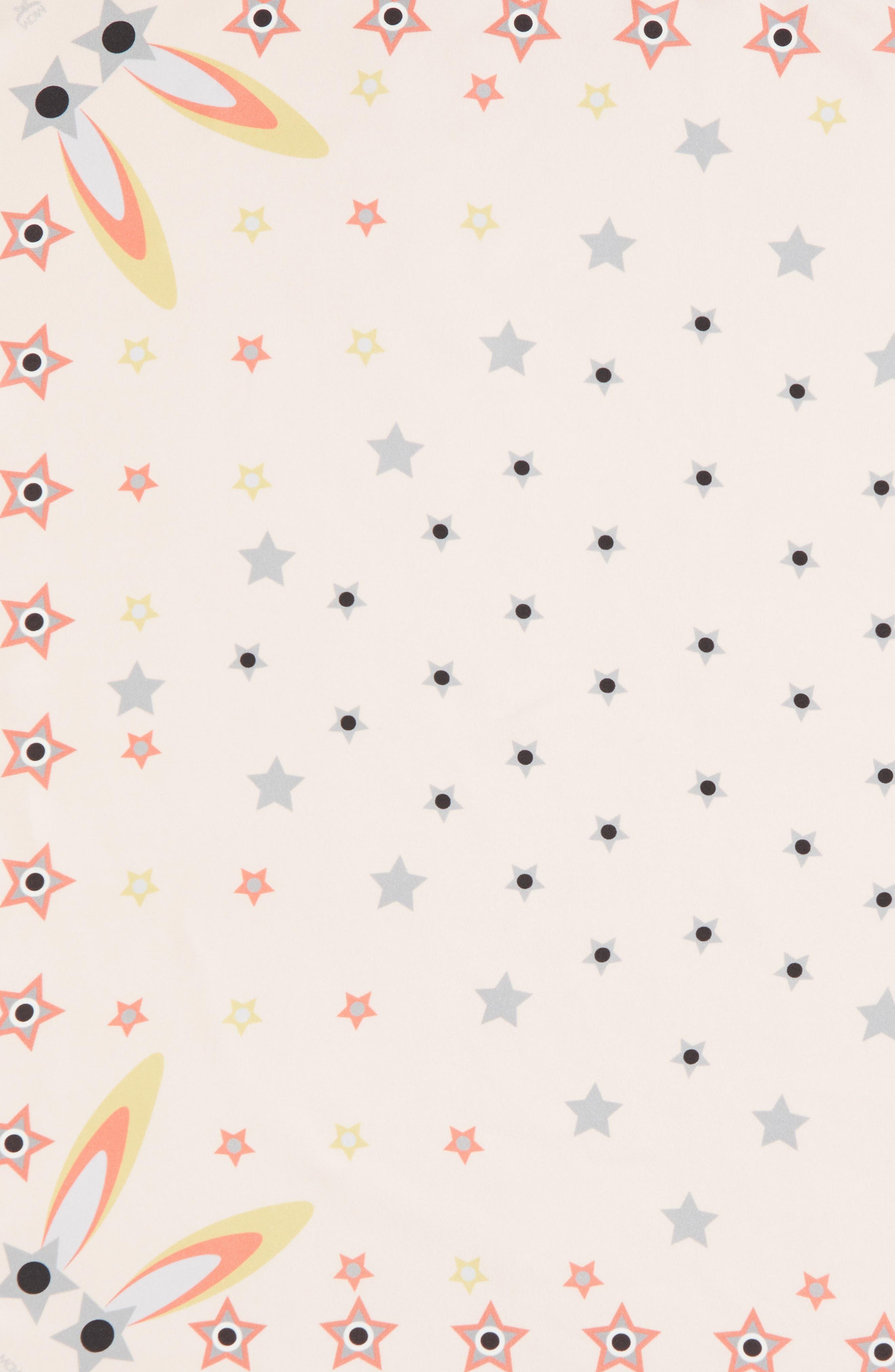 Star-Eyed Bunny Silk Scarf,                             Alternate thumbnail 8, color,