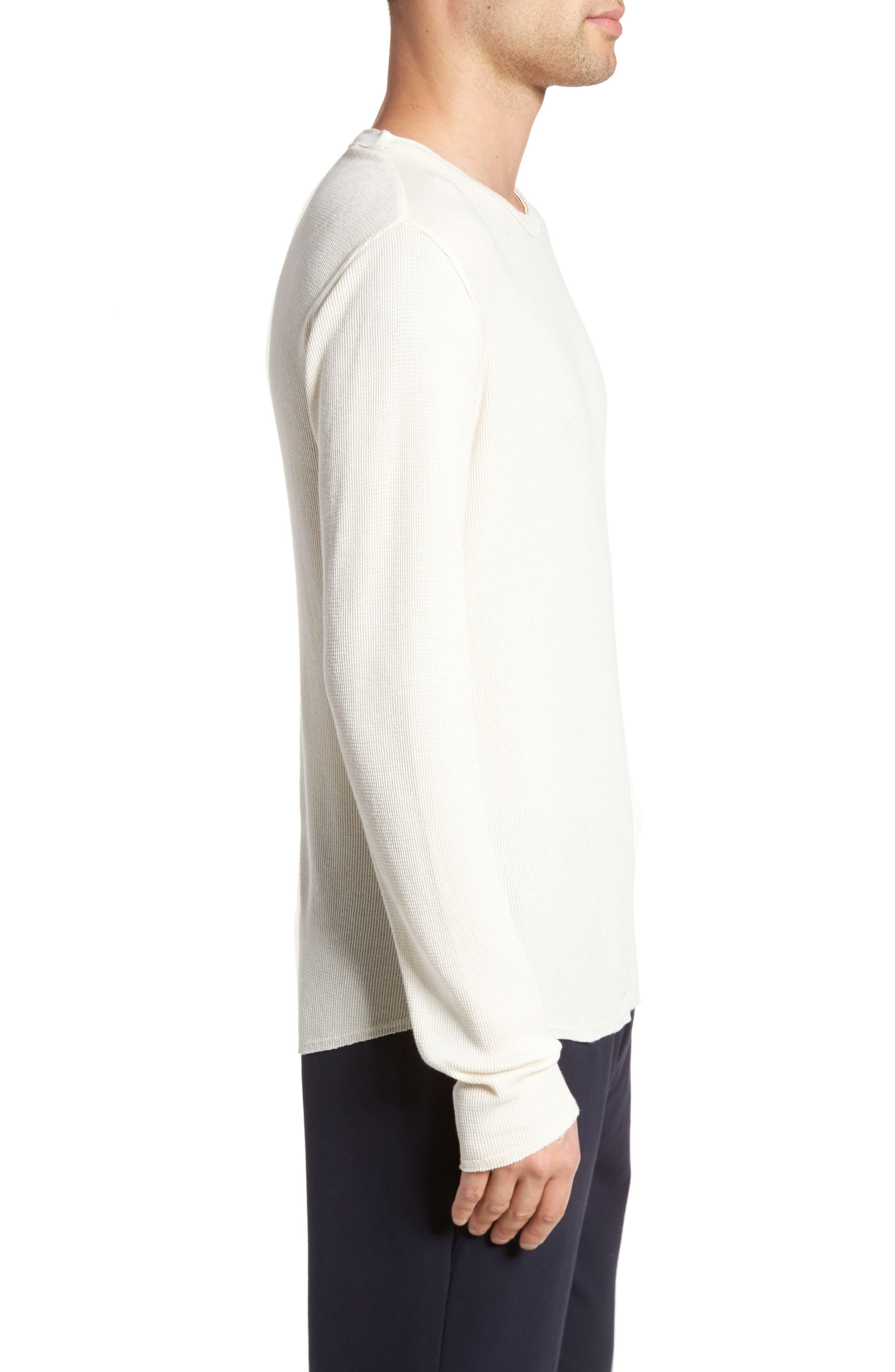 Thermal Knit Long Sleeve T-Shirt,                             Alternate thumbnail 8, color,