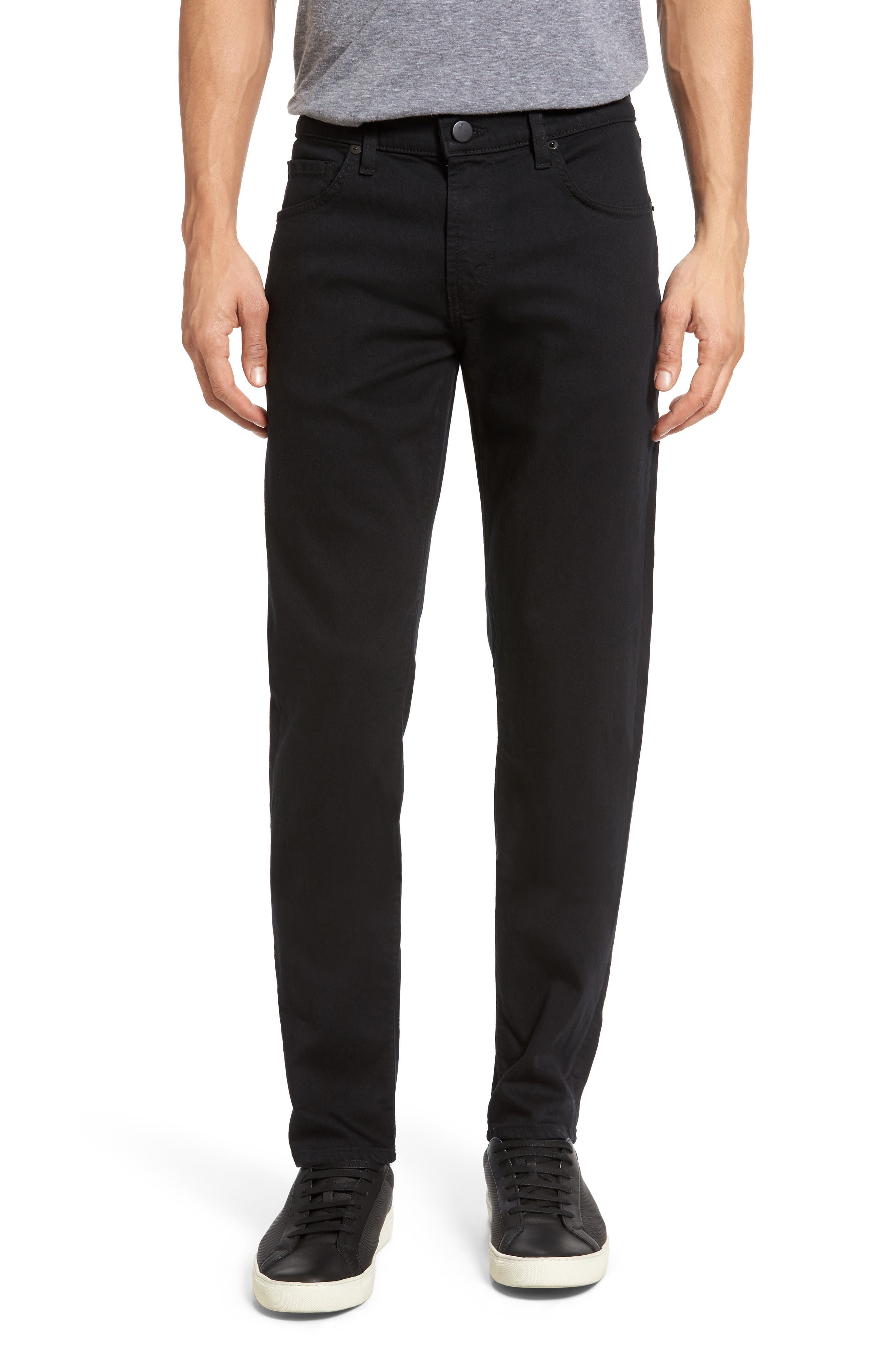 Tyler Slim Fit Jeans,                             Main thumbnail 1, color,                             SERIOUSLY BLACK