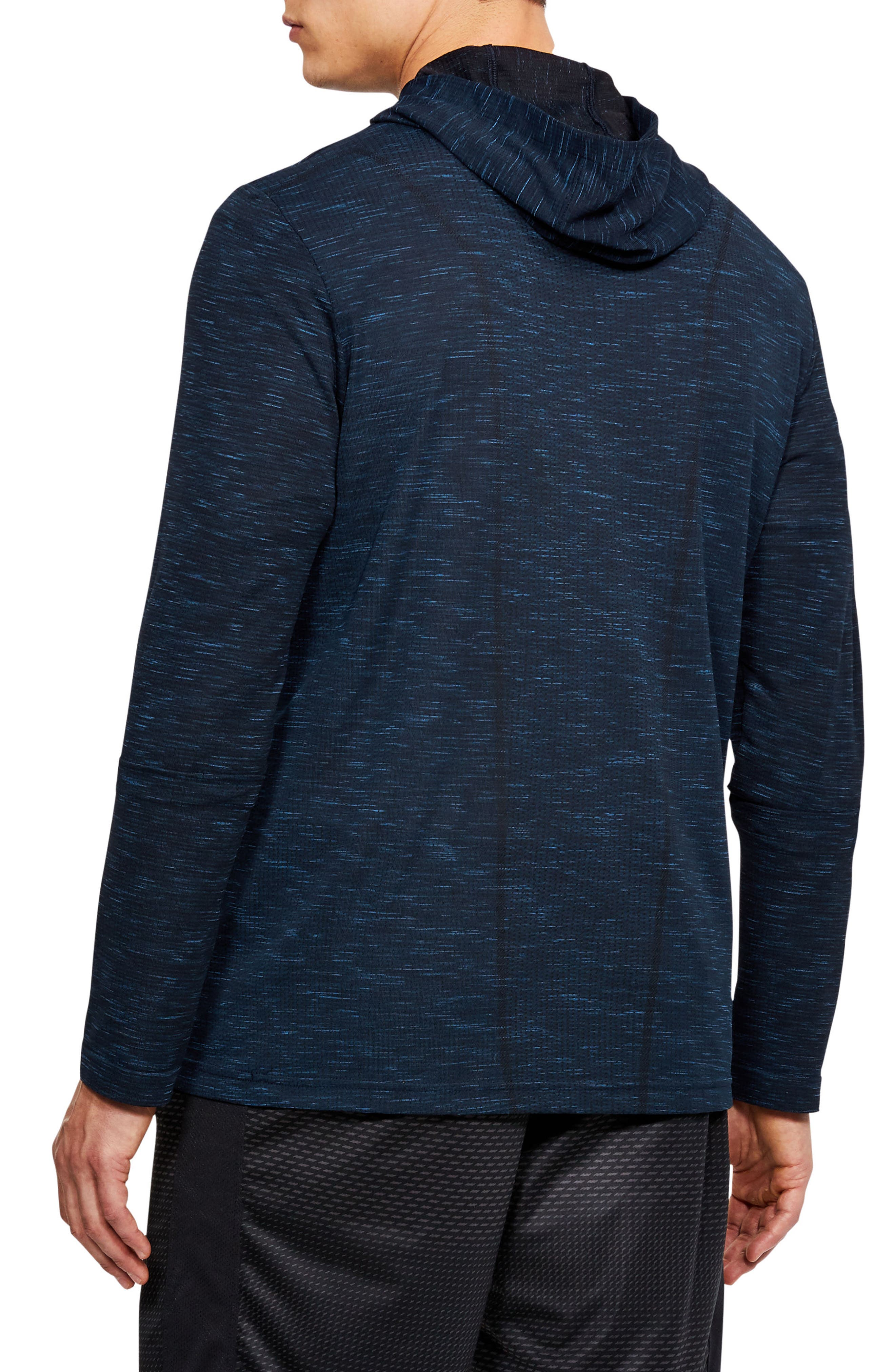 Threadbone Fitted Seamless Hoodie,                             Alternate thumbnail 9, color,