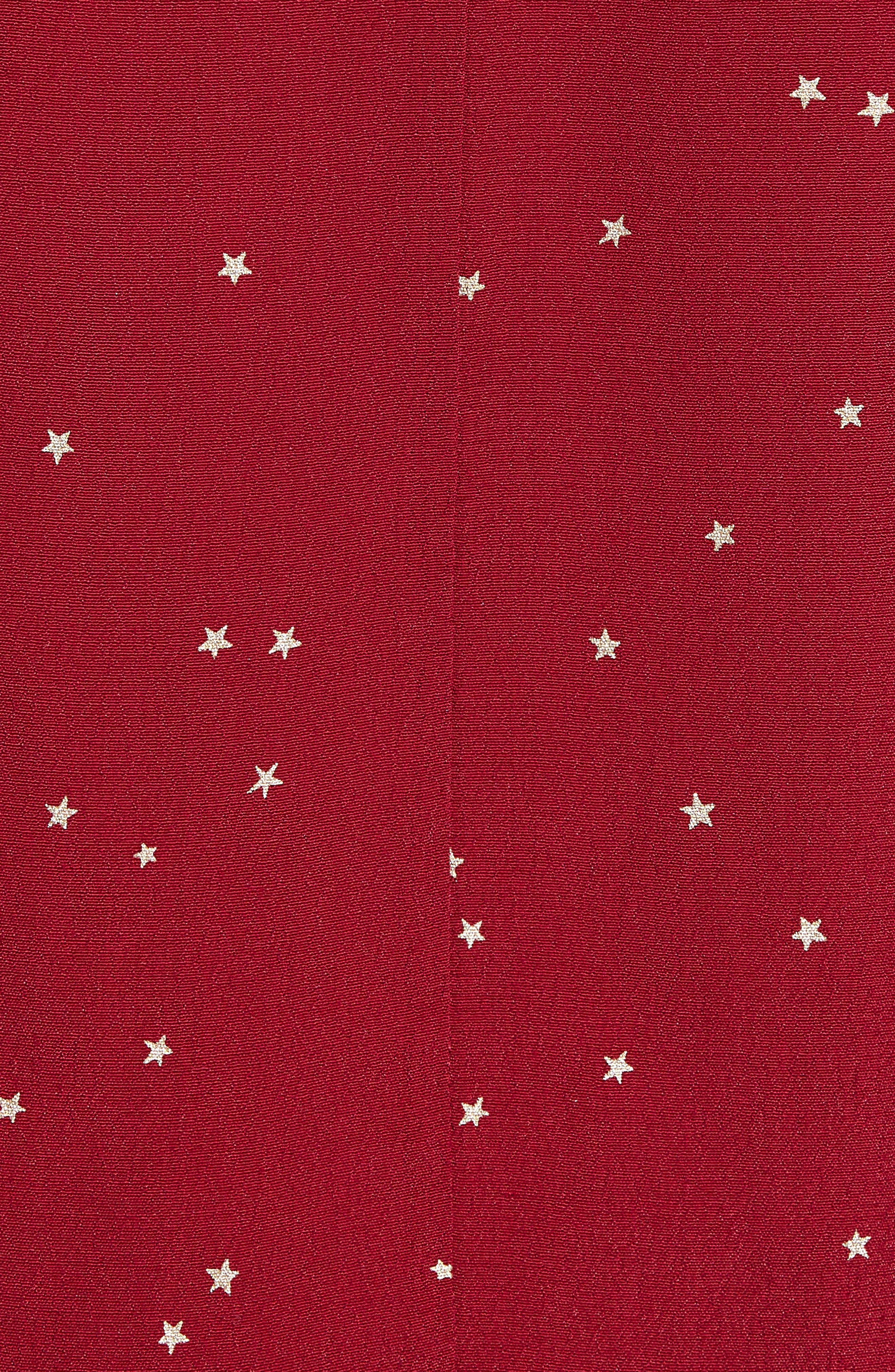 Sloane Blouse,                             Alternate thumbnail 5, color,                             ROUGE GRADIENT STARS