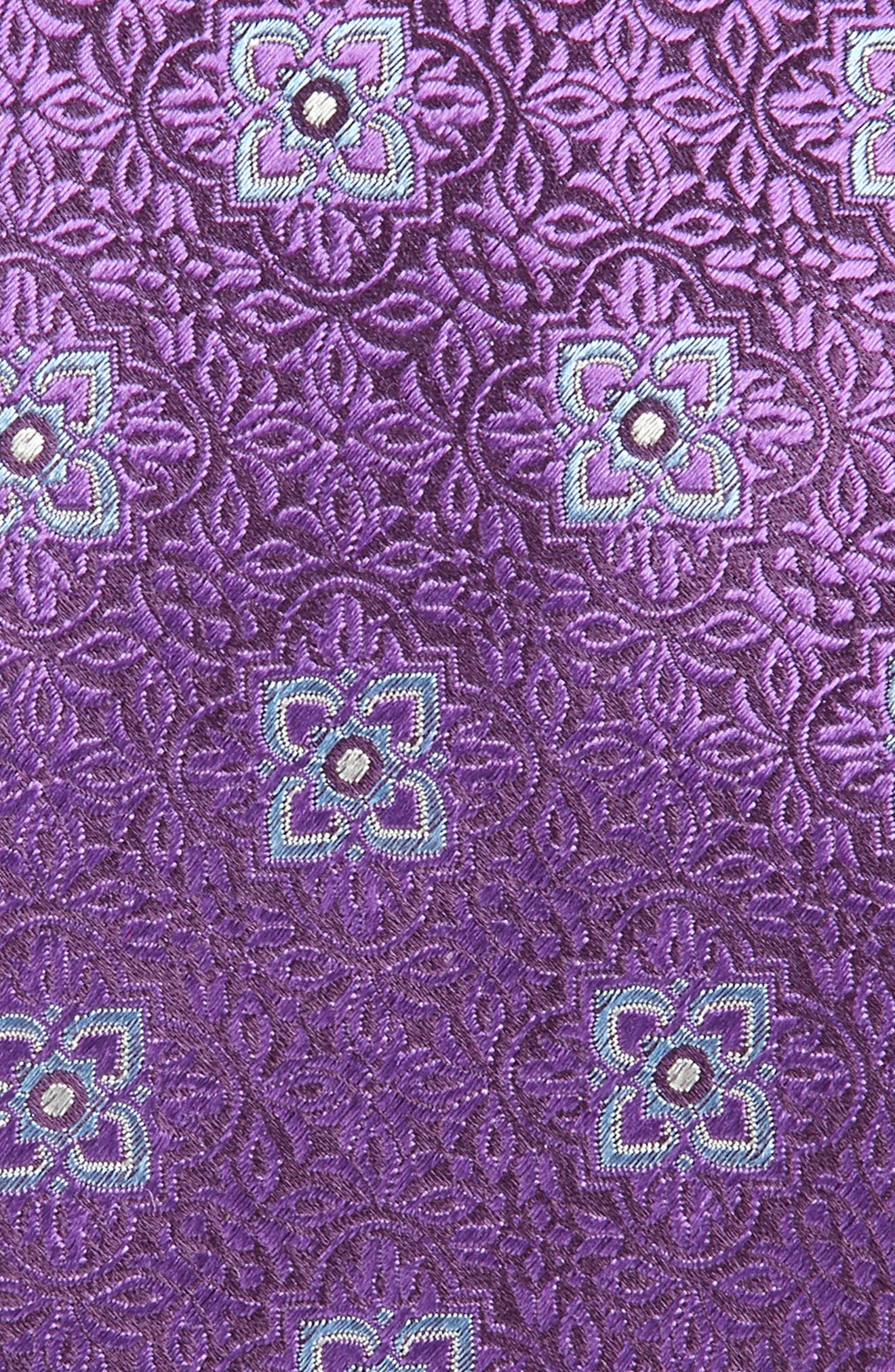 Medallion Silk Tie,                             Alternate thumbnail 2, color,                             500