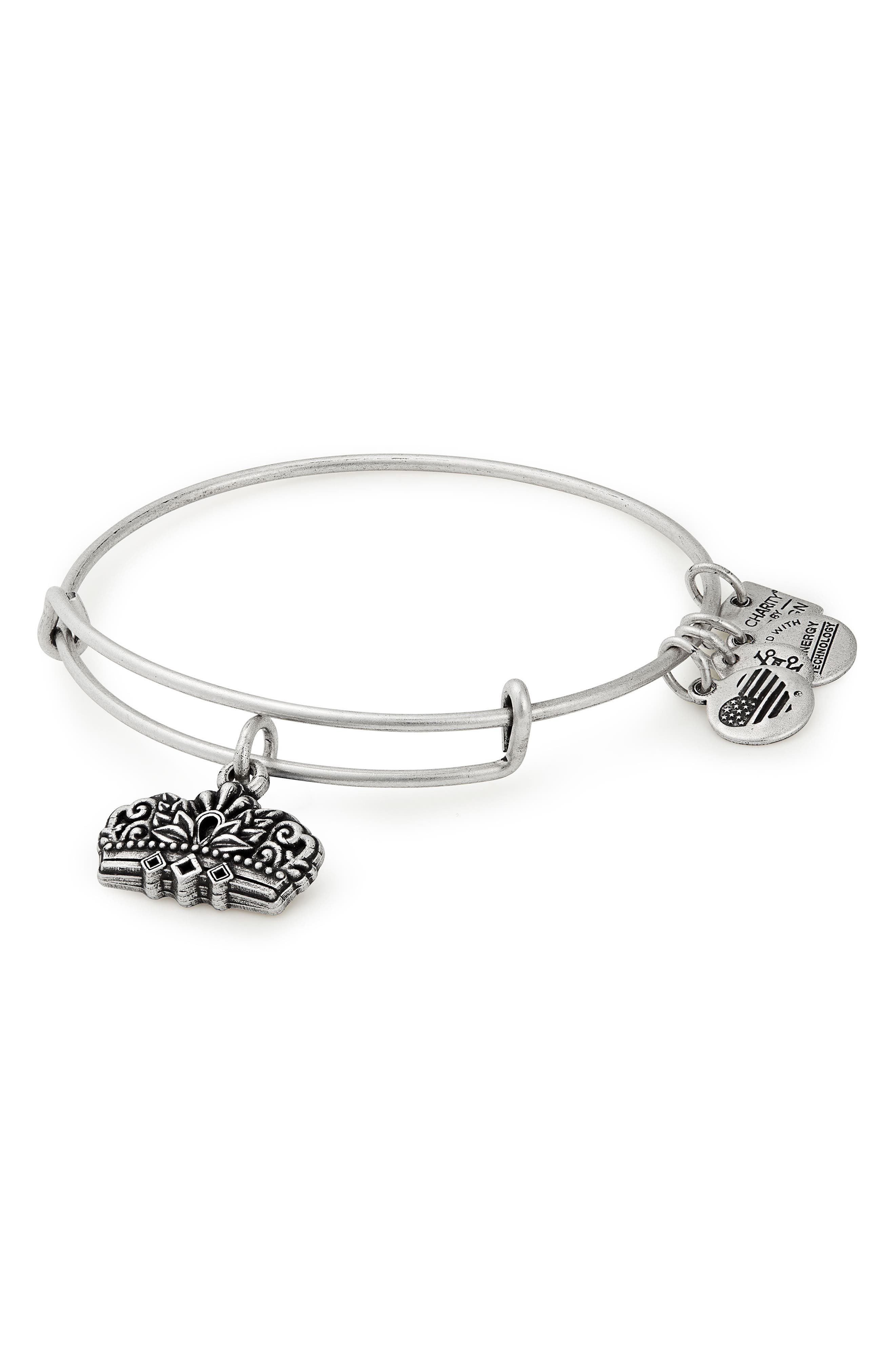 Alex And Ani CHARITY BY DESIGN CROWN BANGLE