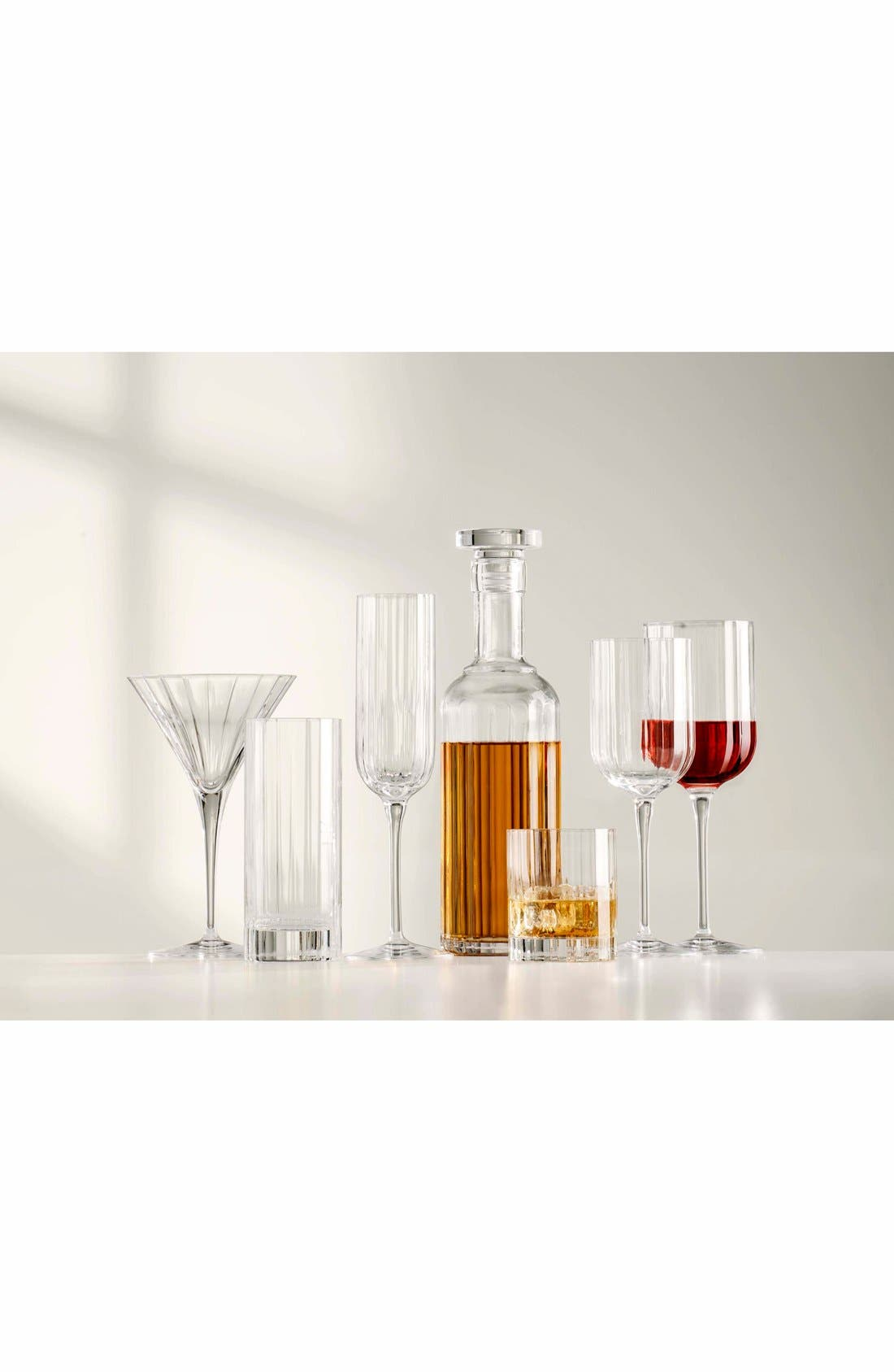 'Bach' Double Old Fashioned Glasses,                             Alternate thumbnail 3, color,                             CLEAR