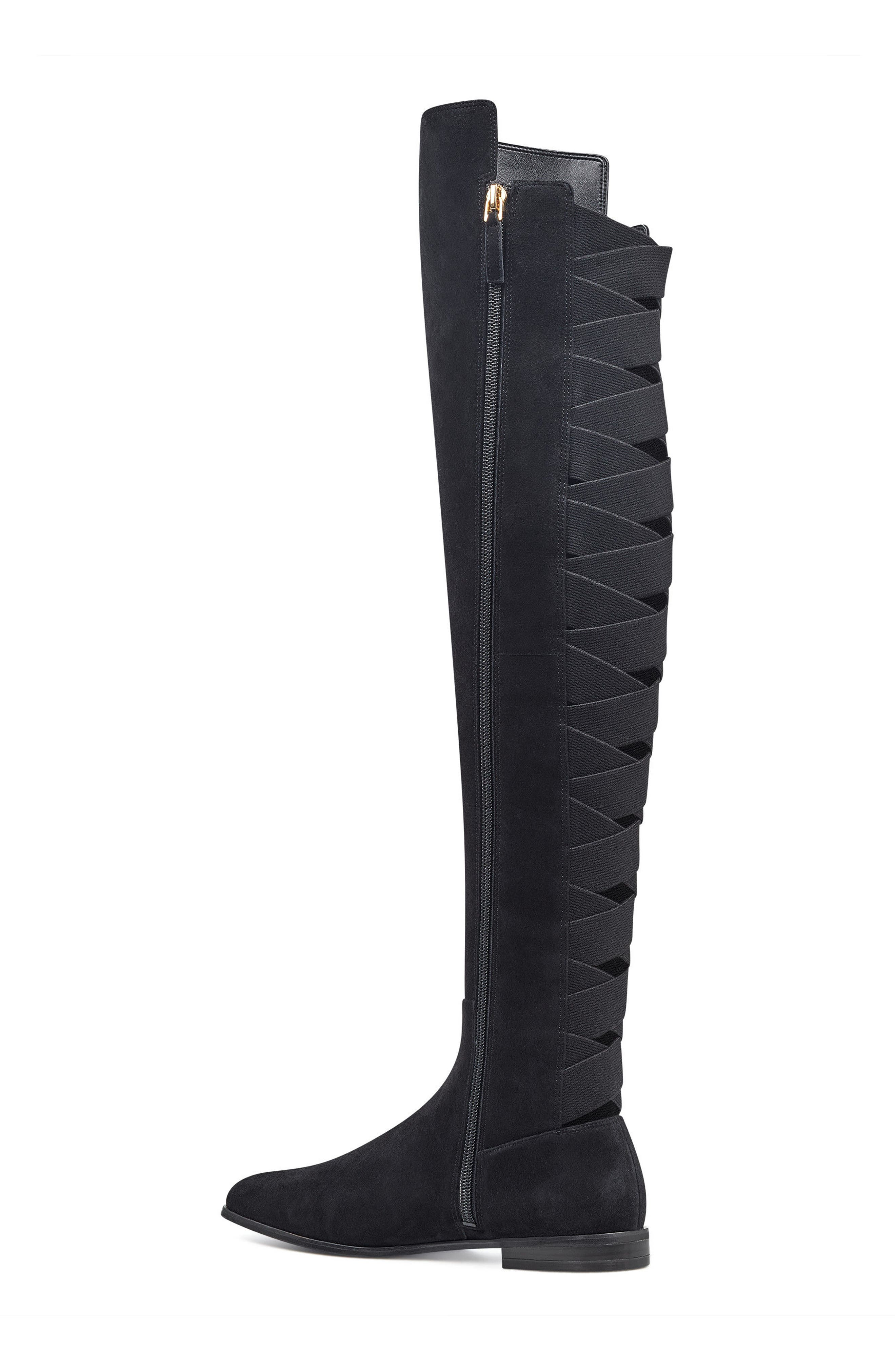 NINE WEST,                             Eltynn Over the Knee Boot,                             Alternate thumbnail 2, color,                             001