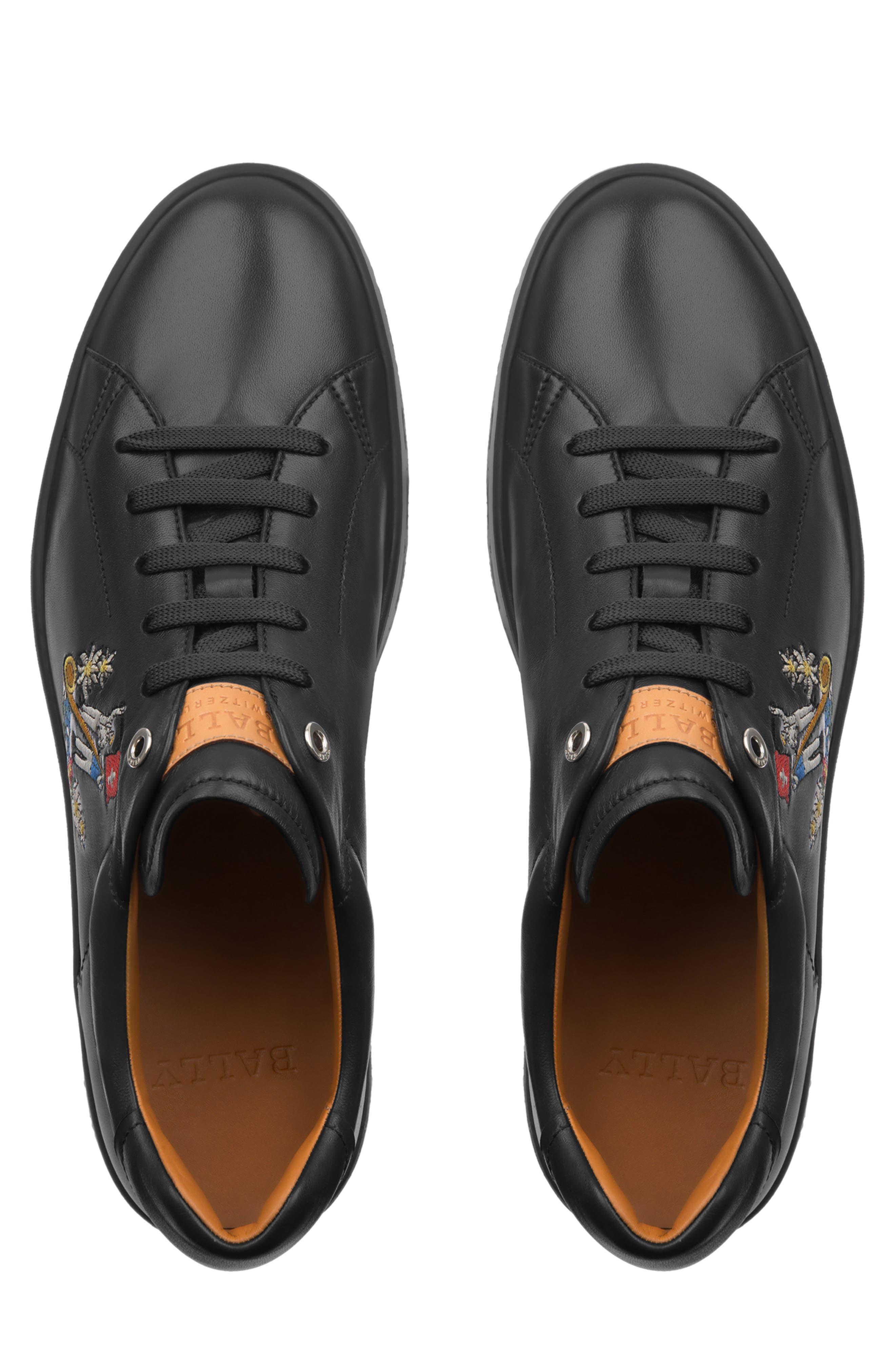 Anistern Sneaker,                             Alternate thumbnail 4, color,                             BLACK