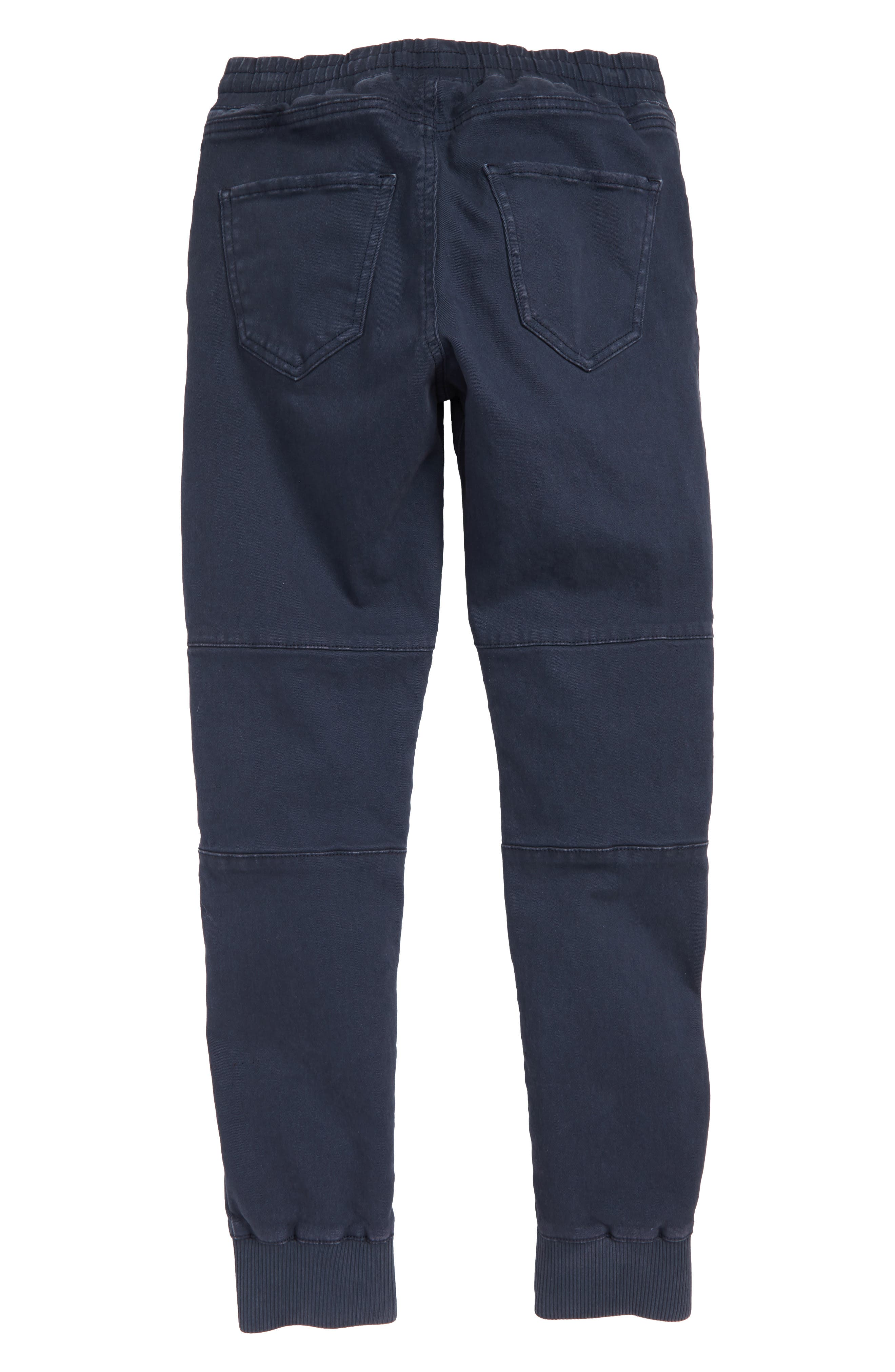 Moto Jogger Pants,                             Alternate thumbnail 2, color,                             NAVY INDIA INK