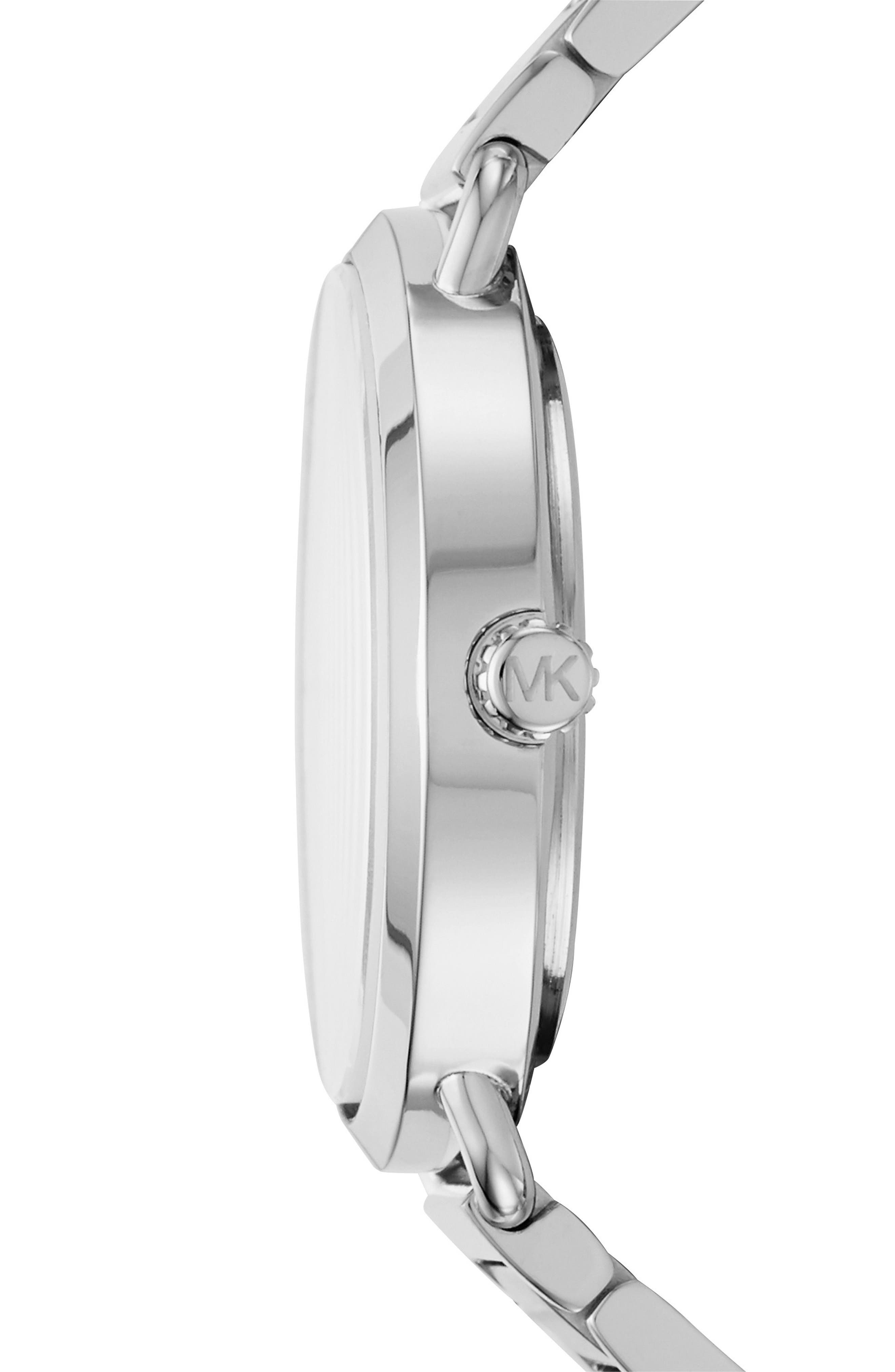 Portia Round Bracelet Watch, 36.5mm,                             Alternate thumbnail 2, color,                             040