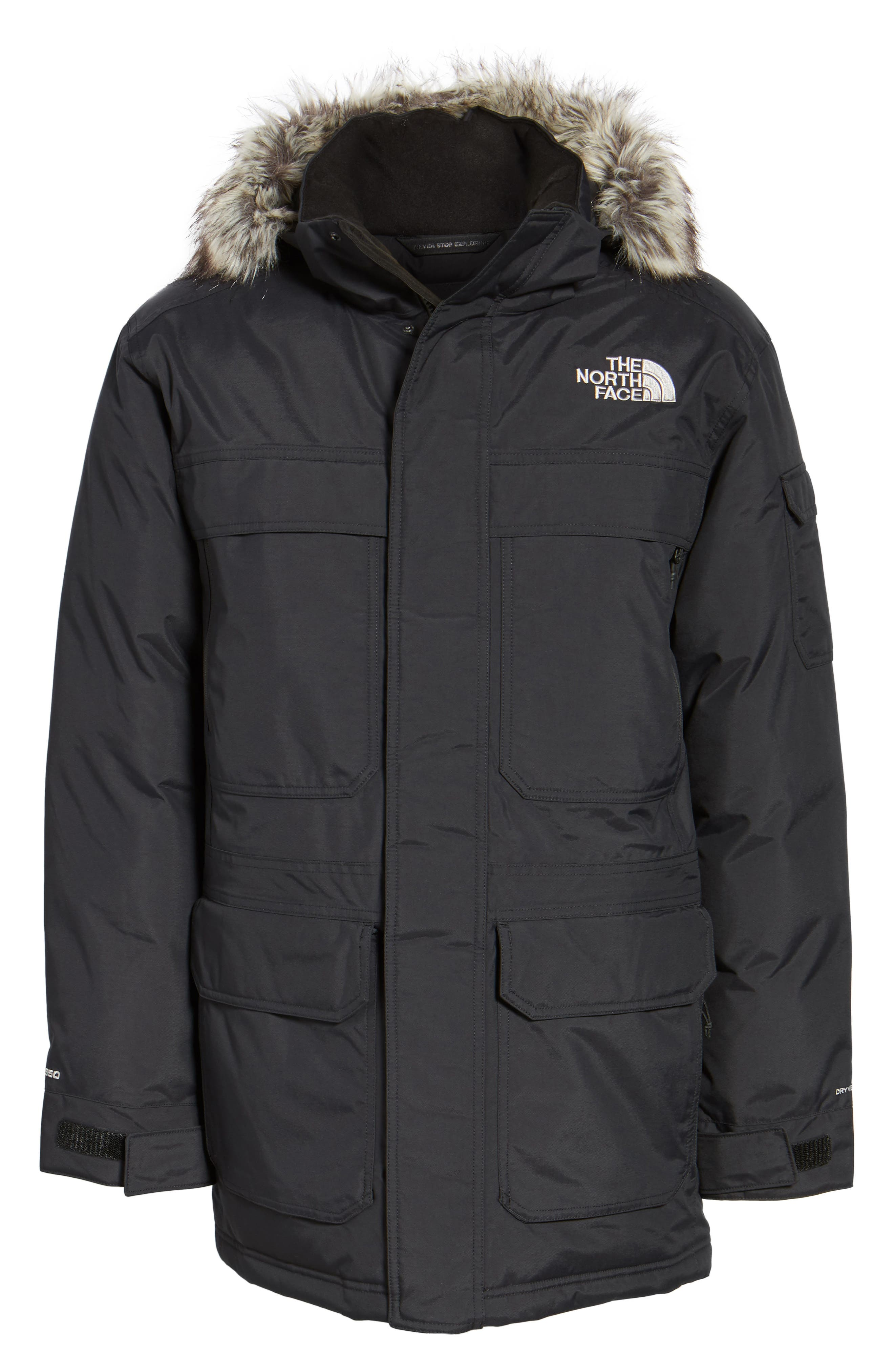 THE NORTH FACE,                             McMurdo III Waterproof Parka,                             Alternate thumbnail 5, color,                             001