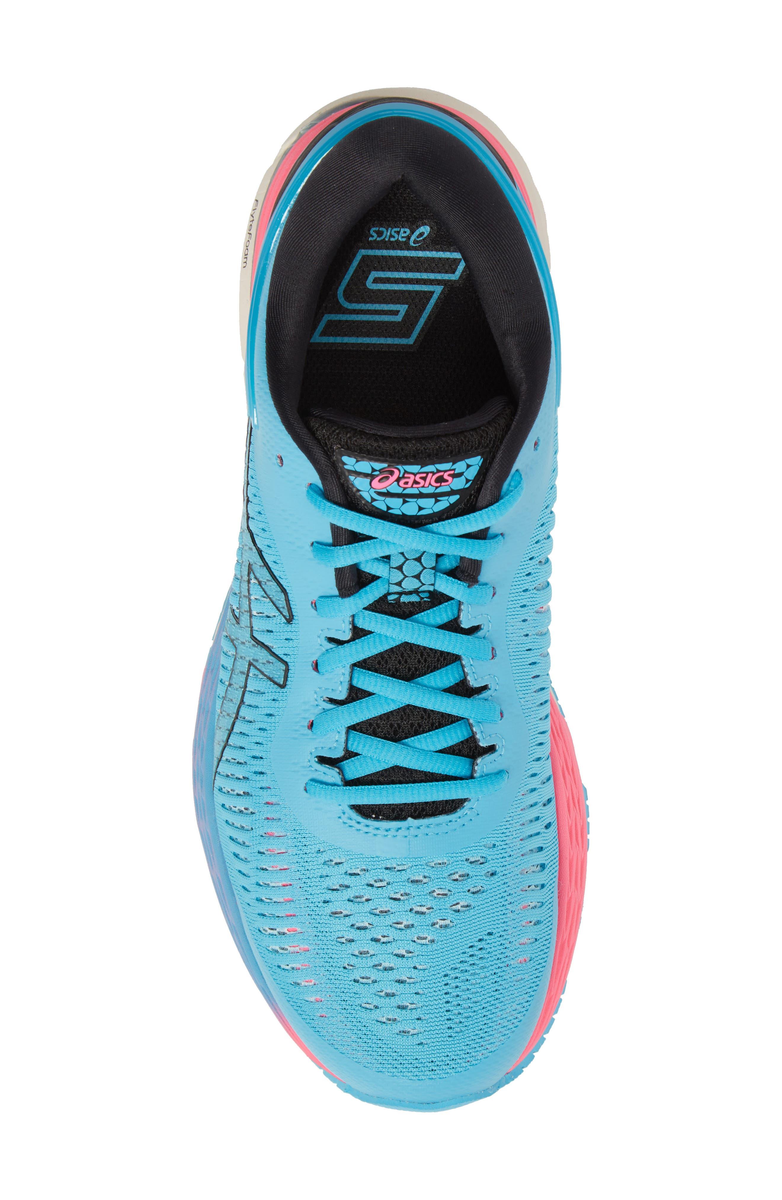 GEL-Kayano<sup>®</sup> 25 Running Shoe,                             Alternate thumbnail 5, color,                             AQUARIUM/ BLACK