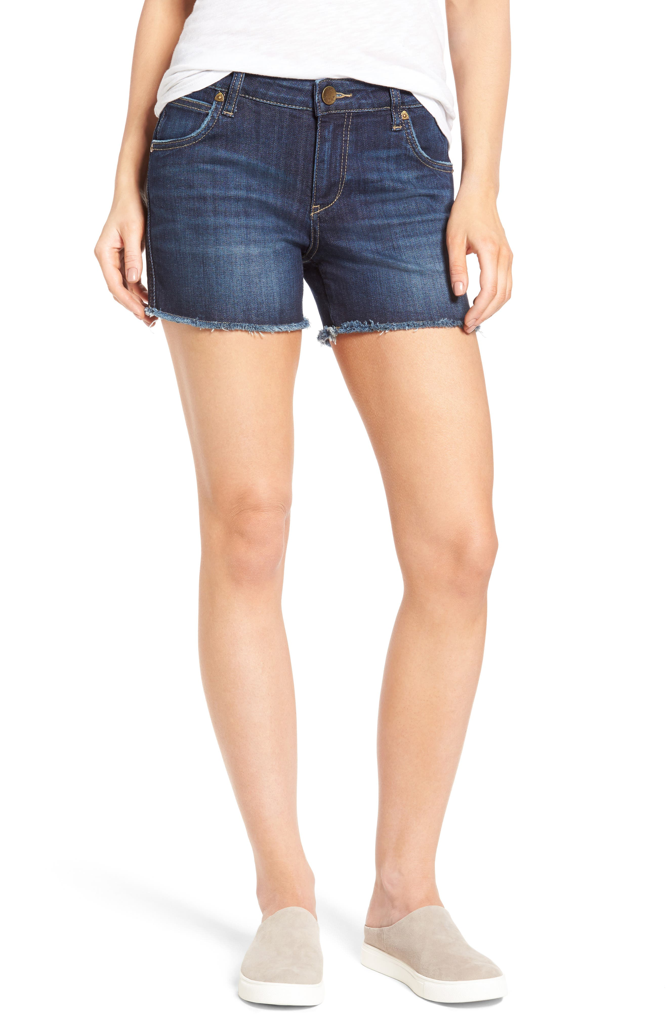 Gidget Denim Cutoff Shorts,                         Main,                         color, STIMULATING