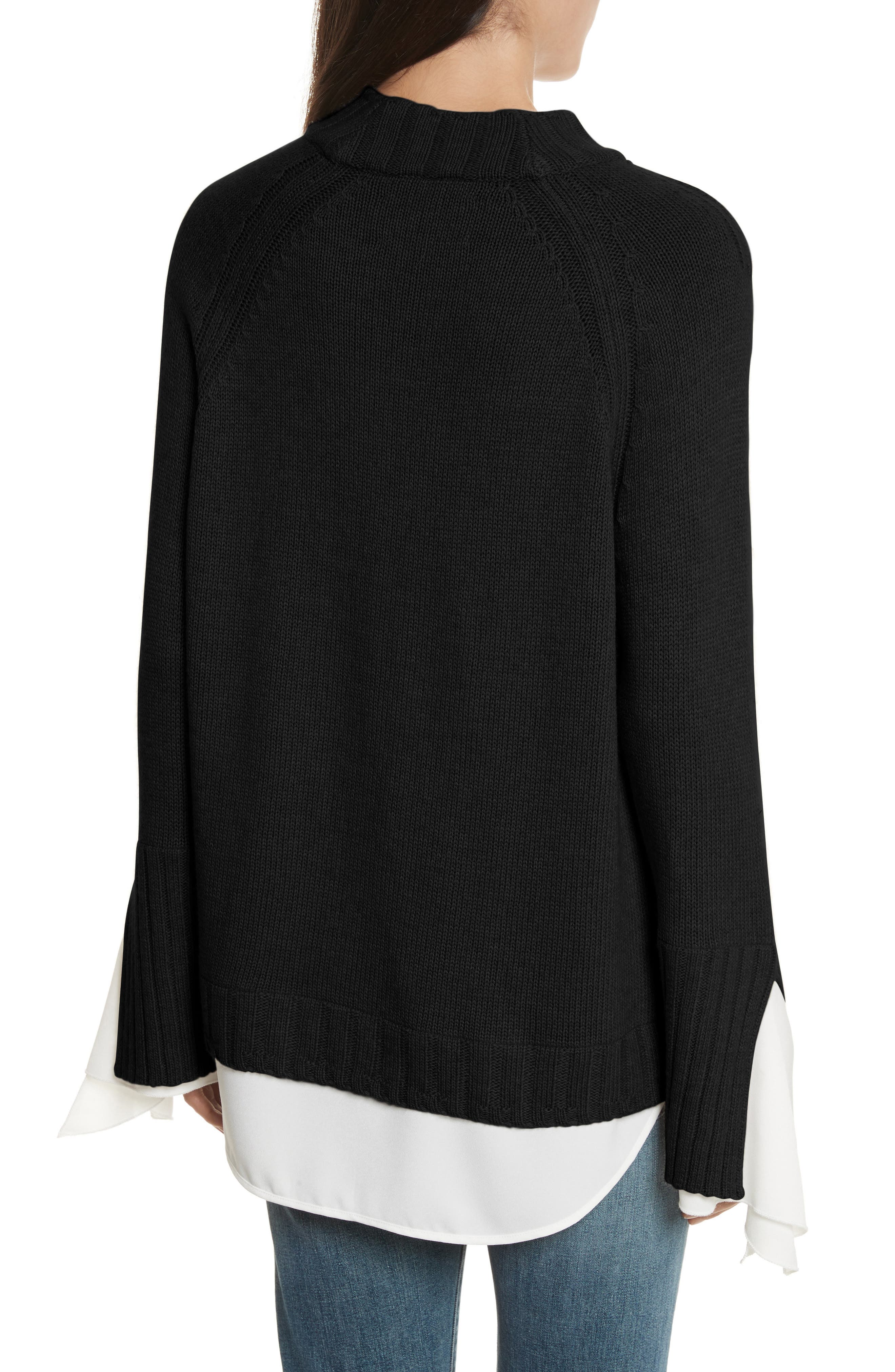 Remi Layered Pullover,                             Alternate thumbnail 2, color,                             002