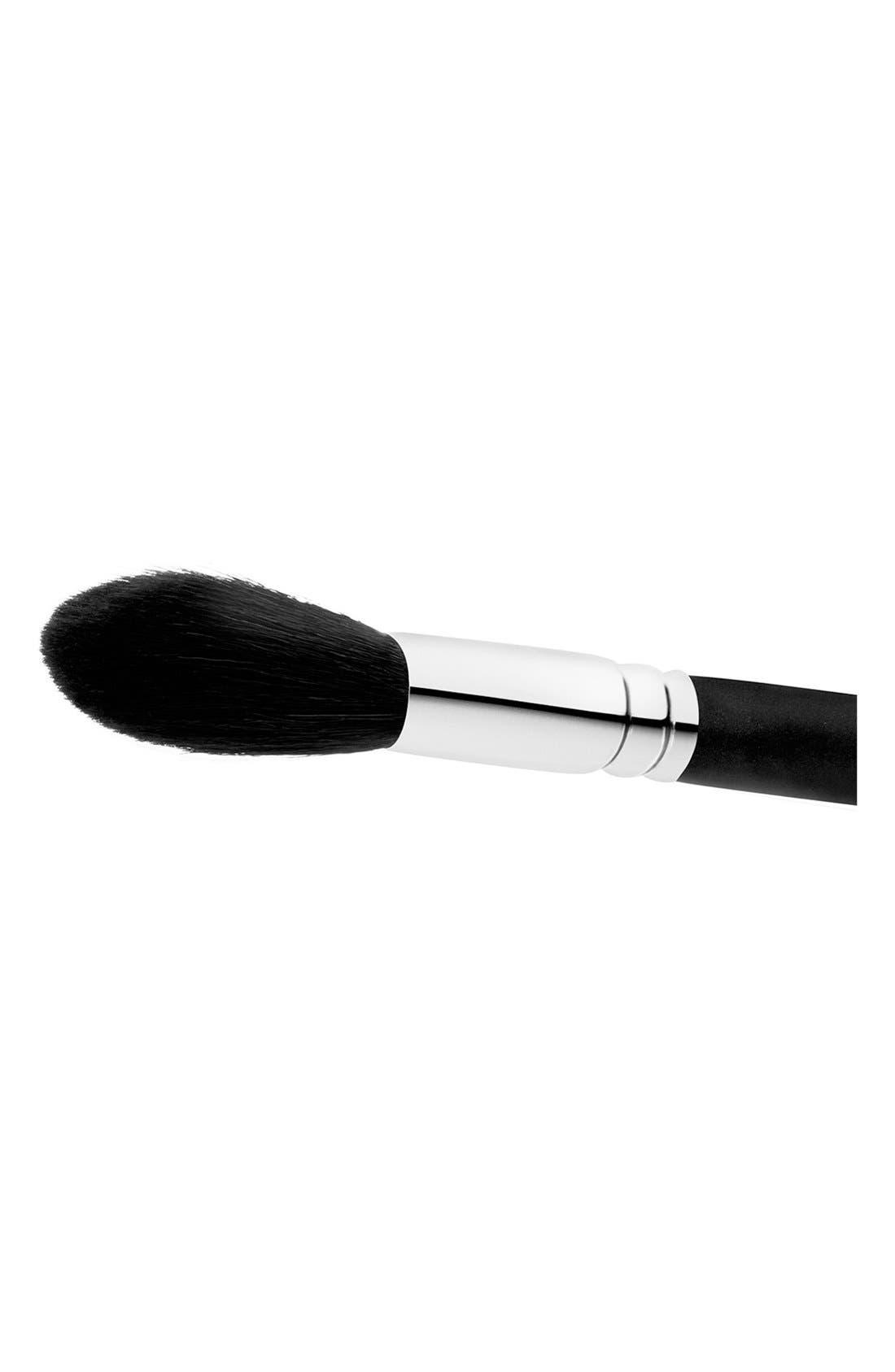 MAC 129SH Powder/Blush Brush,                             Alternate thumbnail 3, color,                             000
