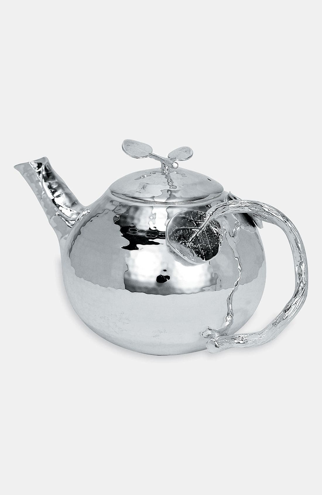 'Botanical Leaf' Teapot, Main, color, 960