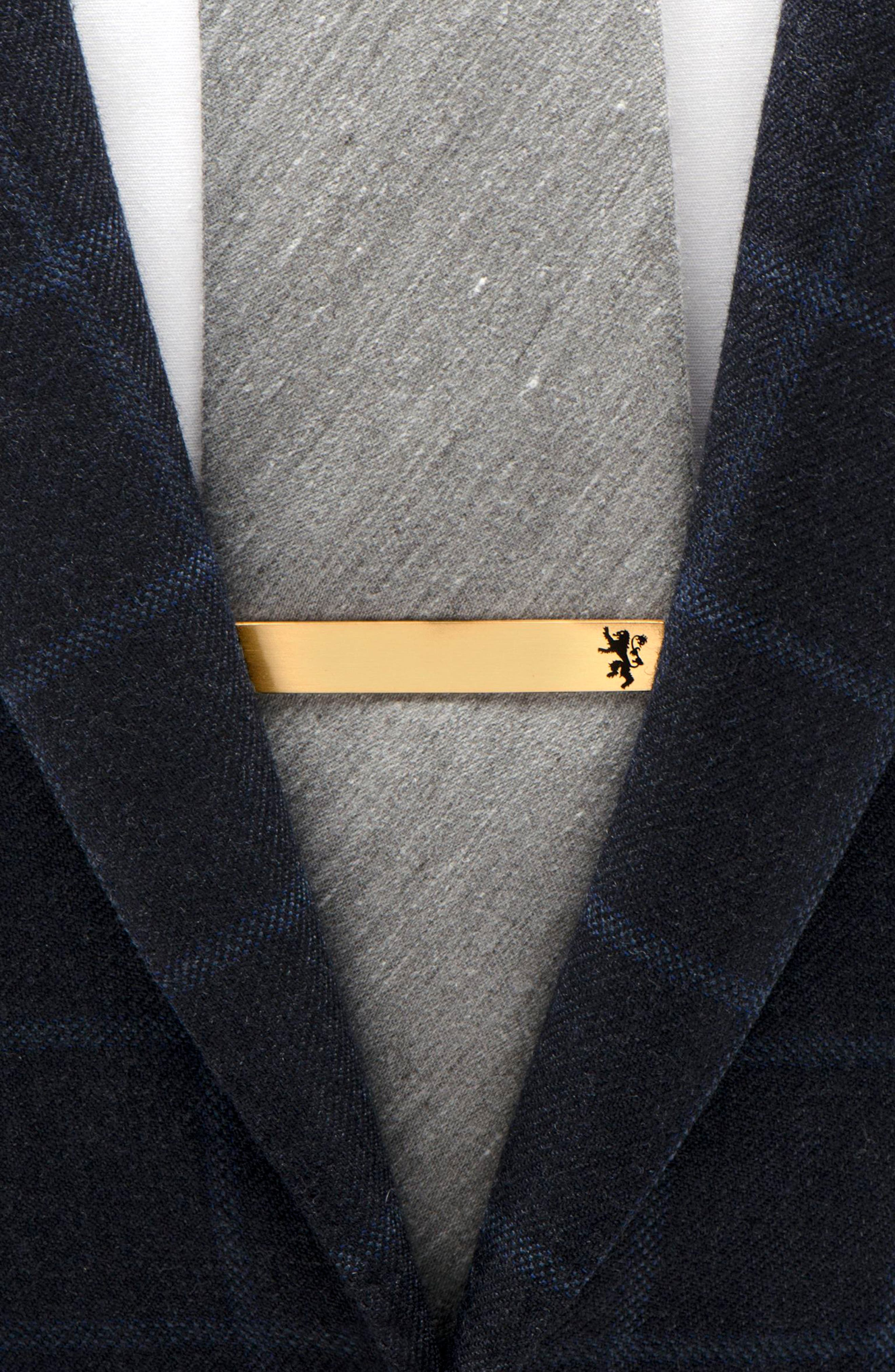 Lannister Tie Bar,                             Alternate thumbnail 3, color,                             GOLD/ BLACK
