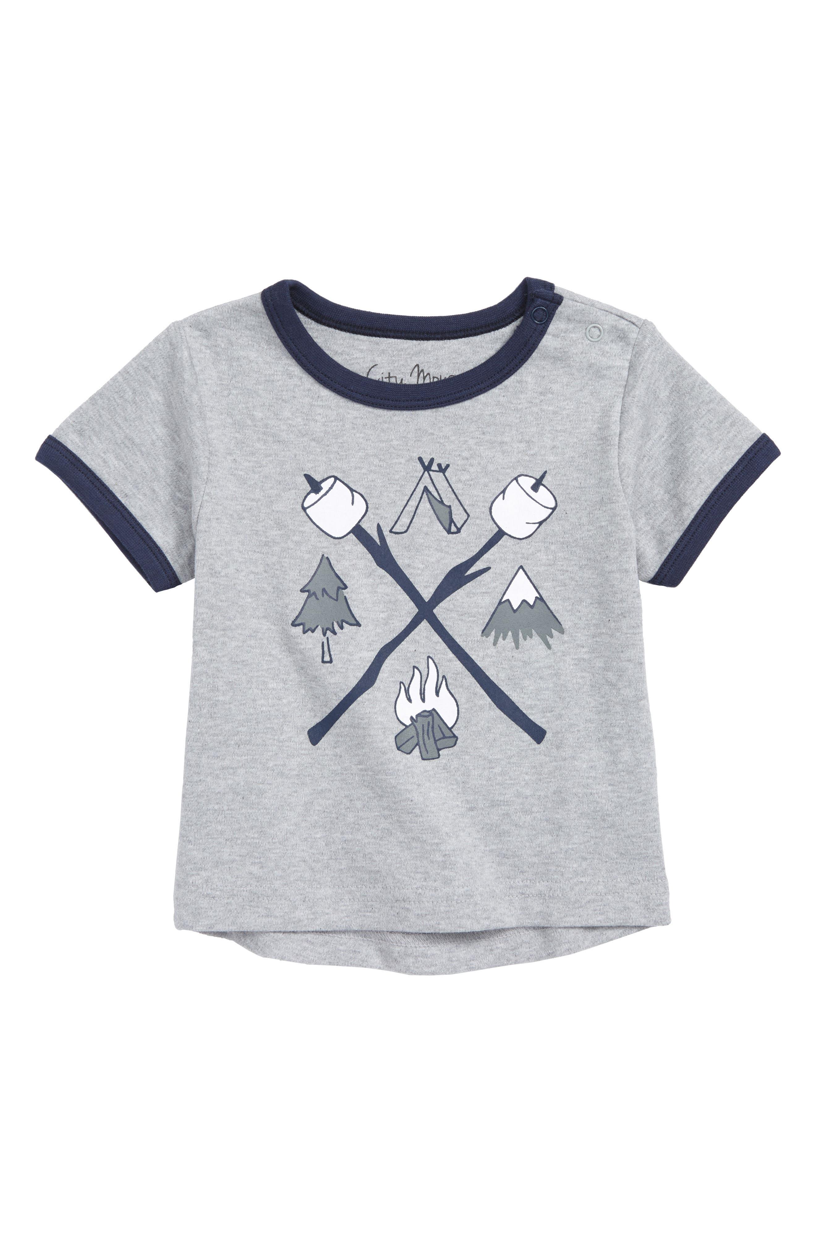 Camping Organic Cotton T-Shirt,                         Main,                         color,