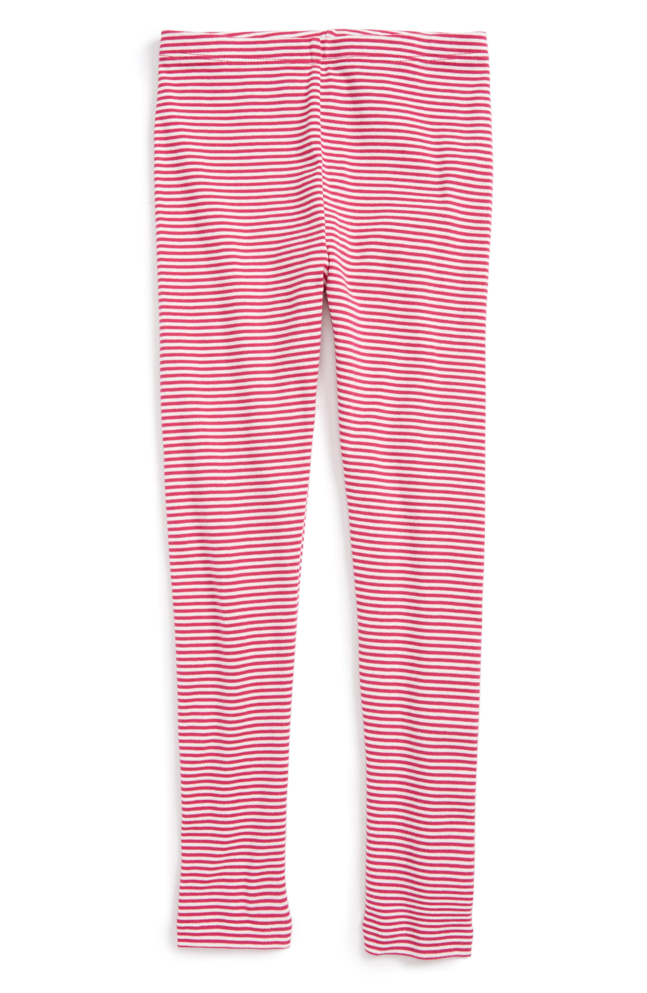 Stripe Cotton Leggings,                             Main thumbnail 1, color,