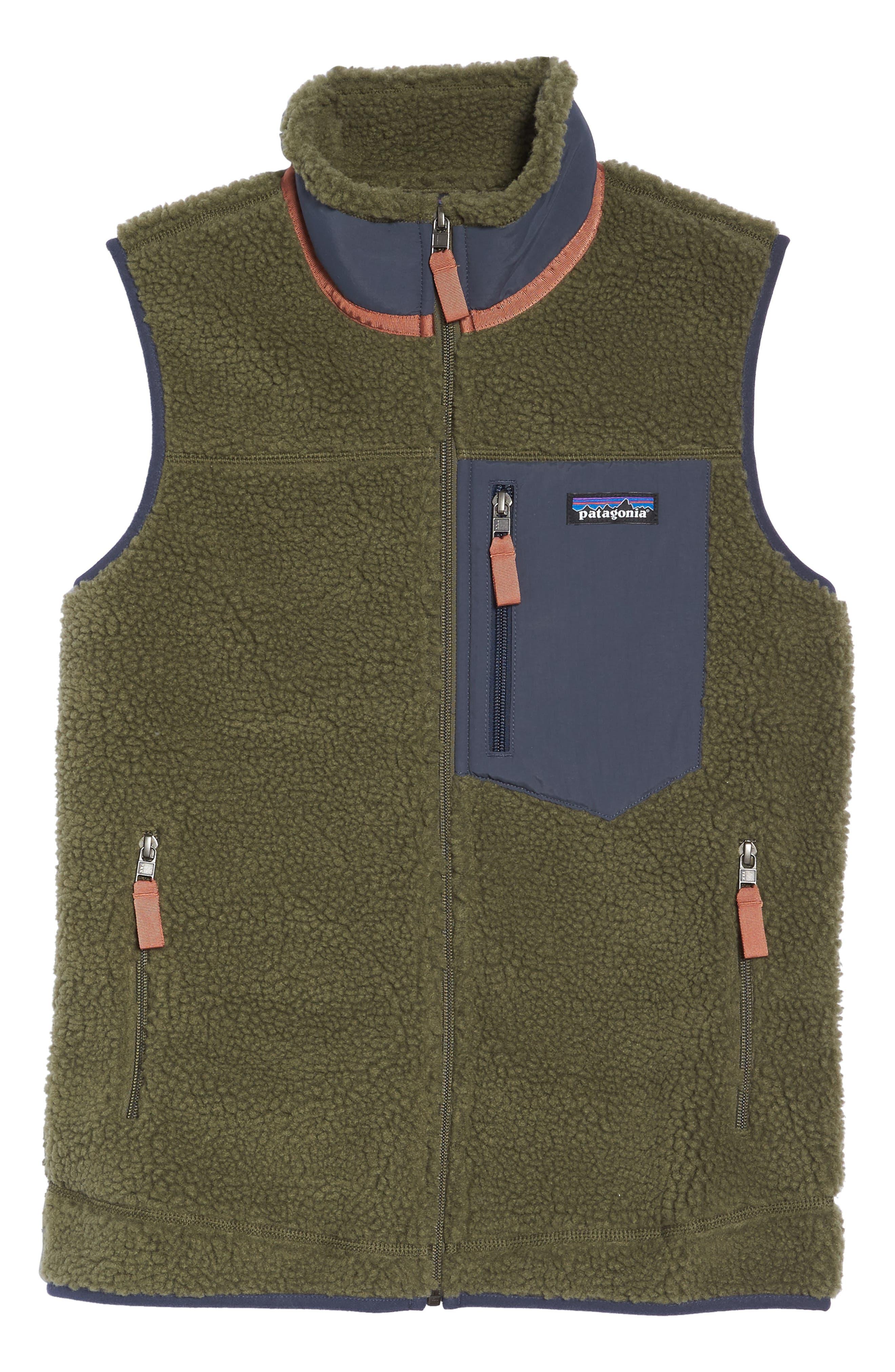 Classic Retro-X<sup>®</sup> Fleece Vest,                             Alternate thumbnail 6, color,                             FATIGUE GREEN