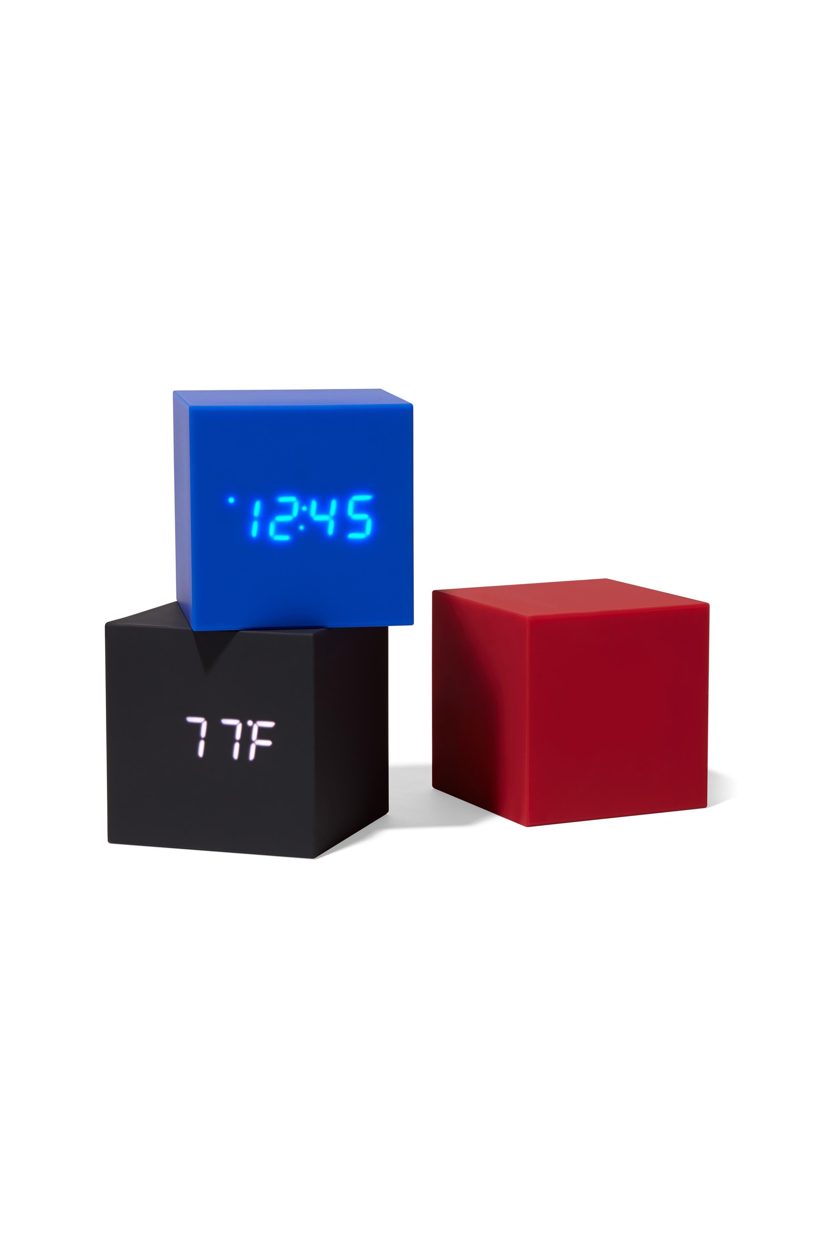 Color Cube Clock,                             Alternate thumbnail 3, color,                             001