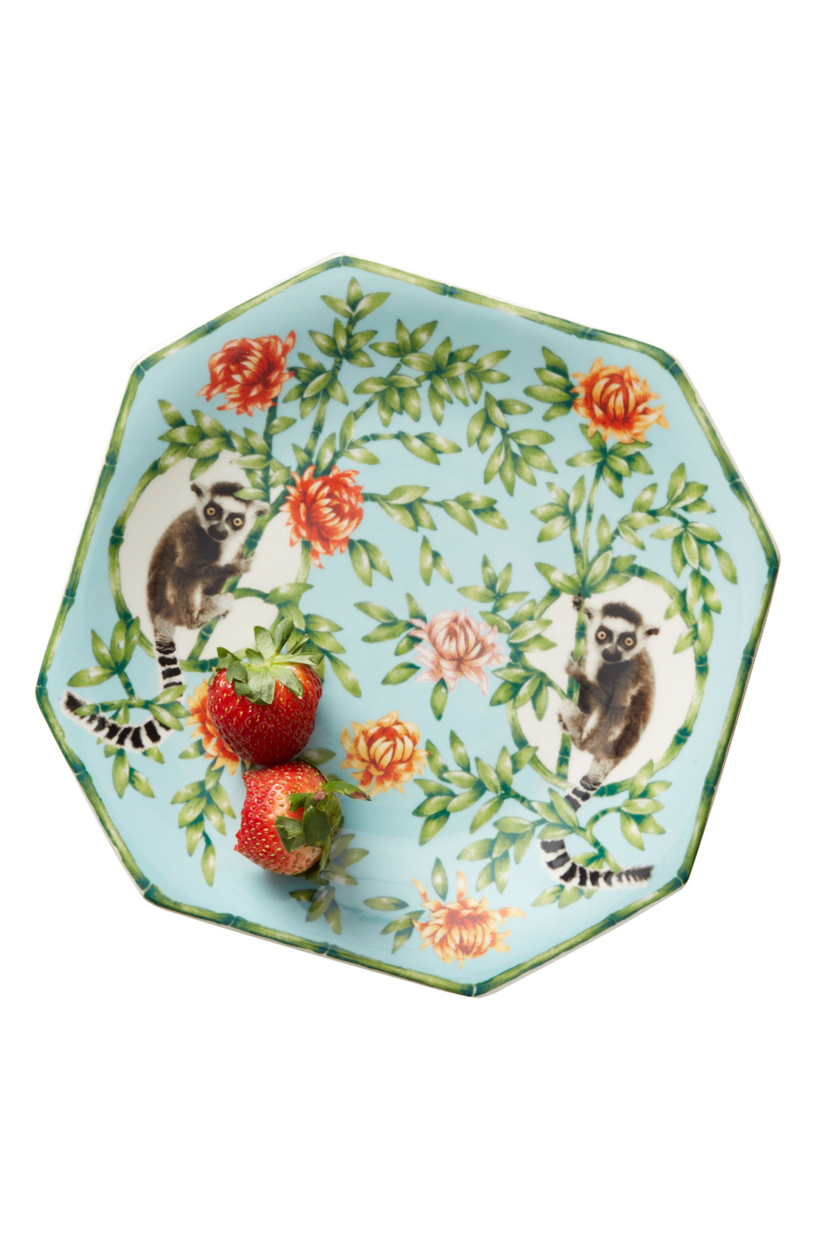 Nature Table Dessert Plate,                             Alternate thumbnail 4, color,                             MINT