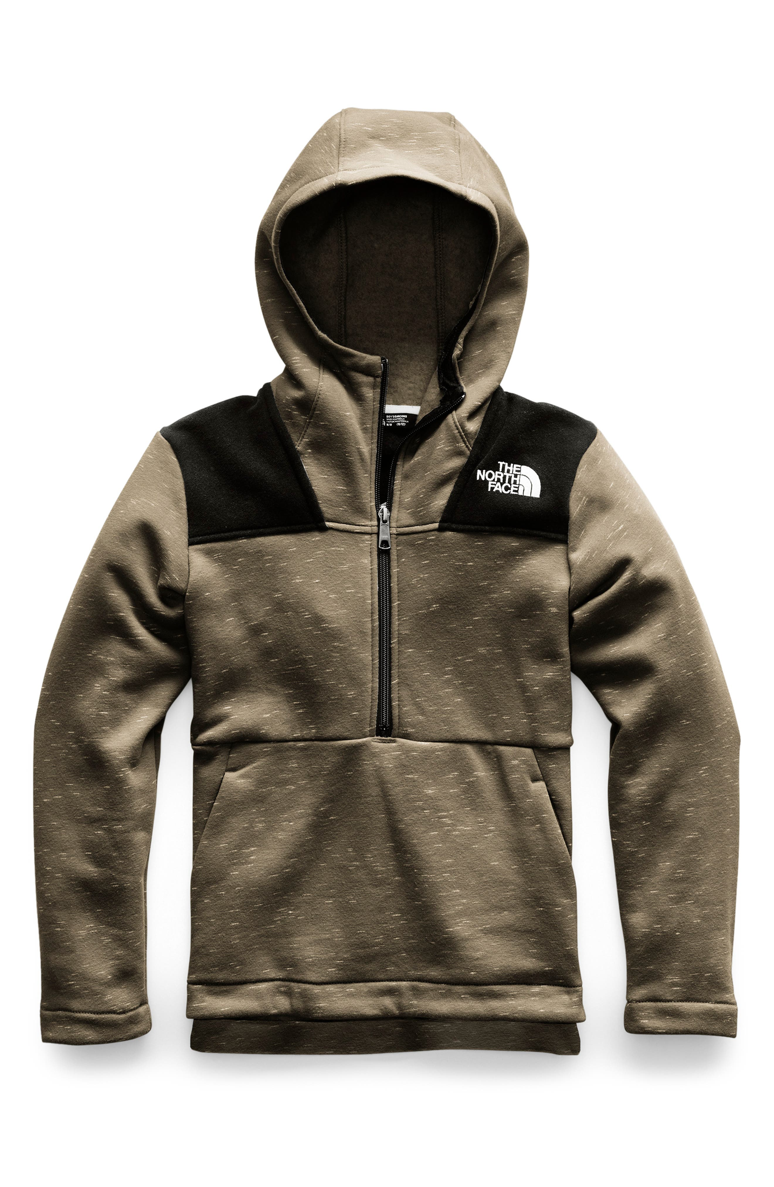 Linton Park Pullover Hoodie,                             Main thumbnail 1, color,                             NEW TAUPE GREEN HEATHER