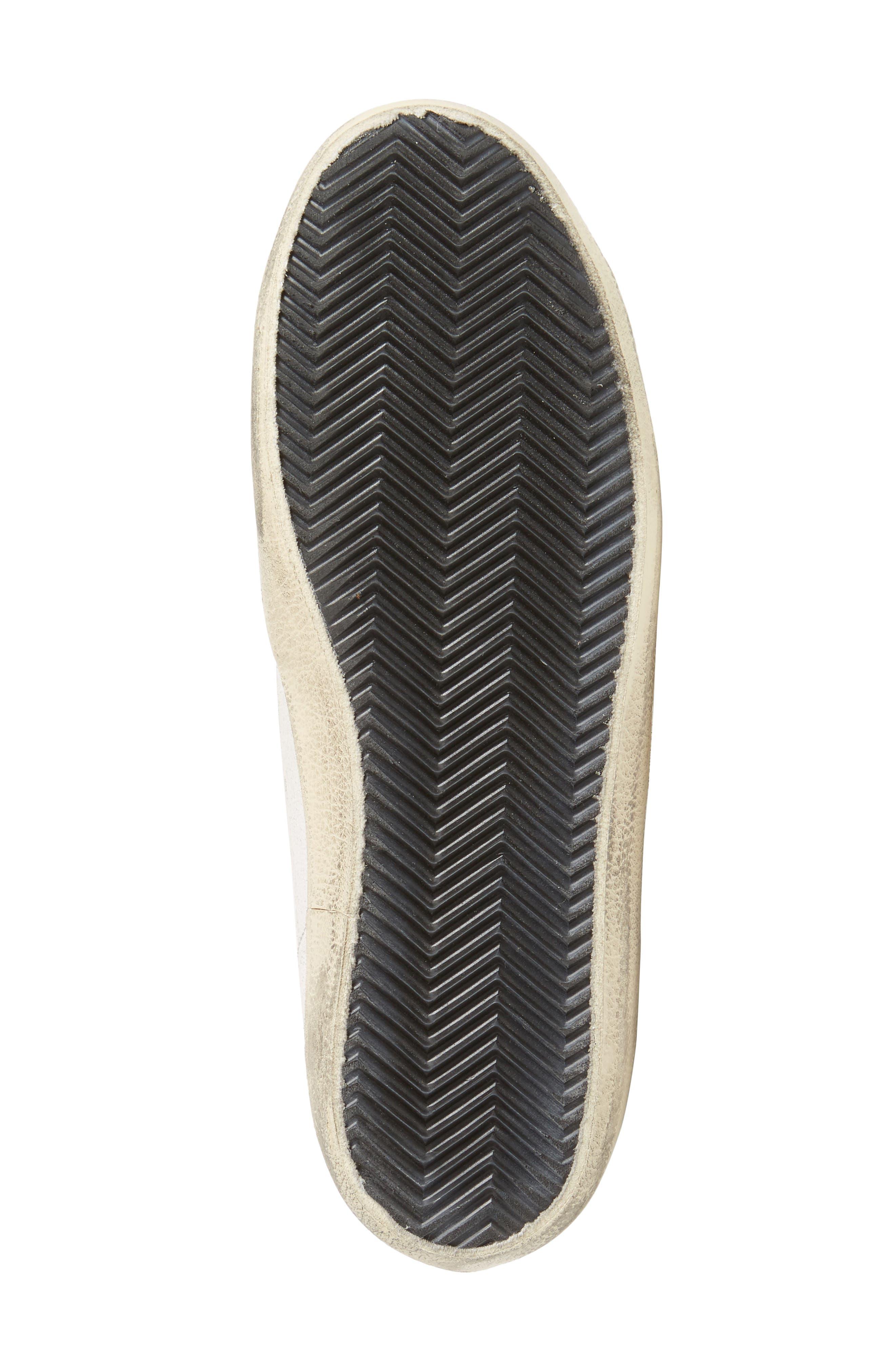 Superstar Sneaker with Genuine Calf Hair Trim,                             Alternate thumbnail 6, color,