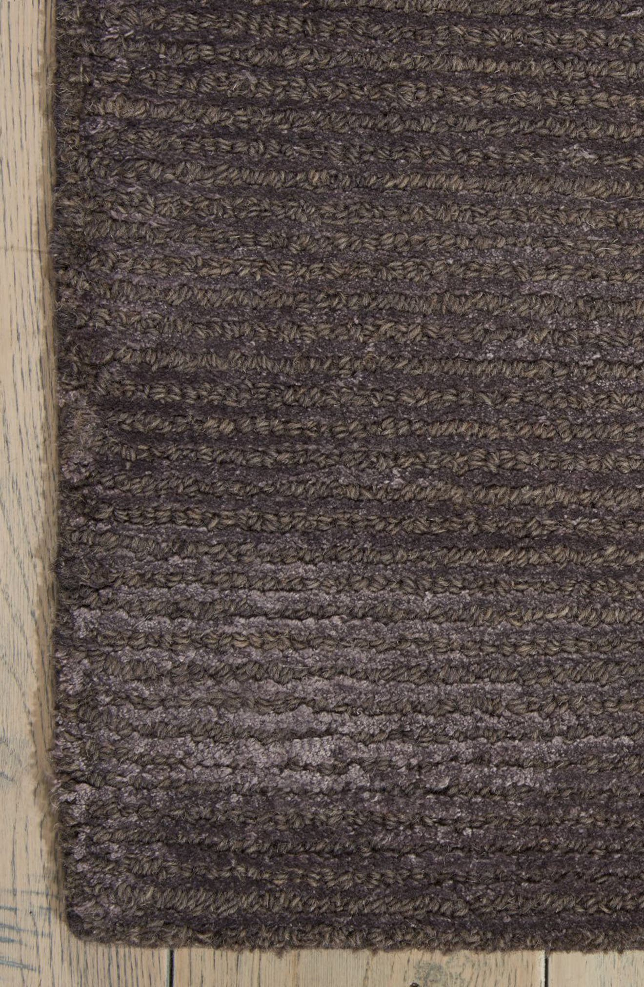 Ravine Furrow Handwoven Area Rug,                             Alternate thumbnail 7, color,                             001
